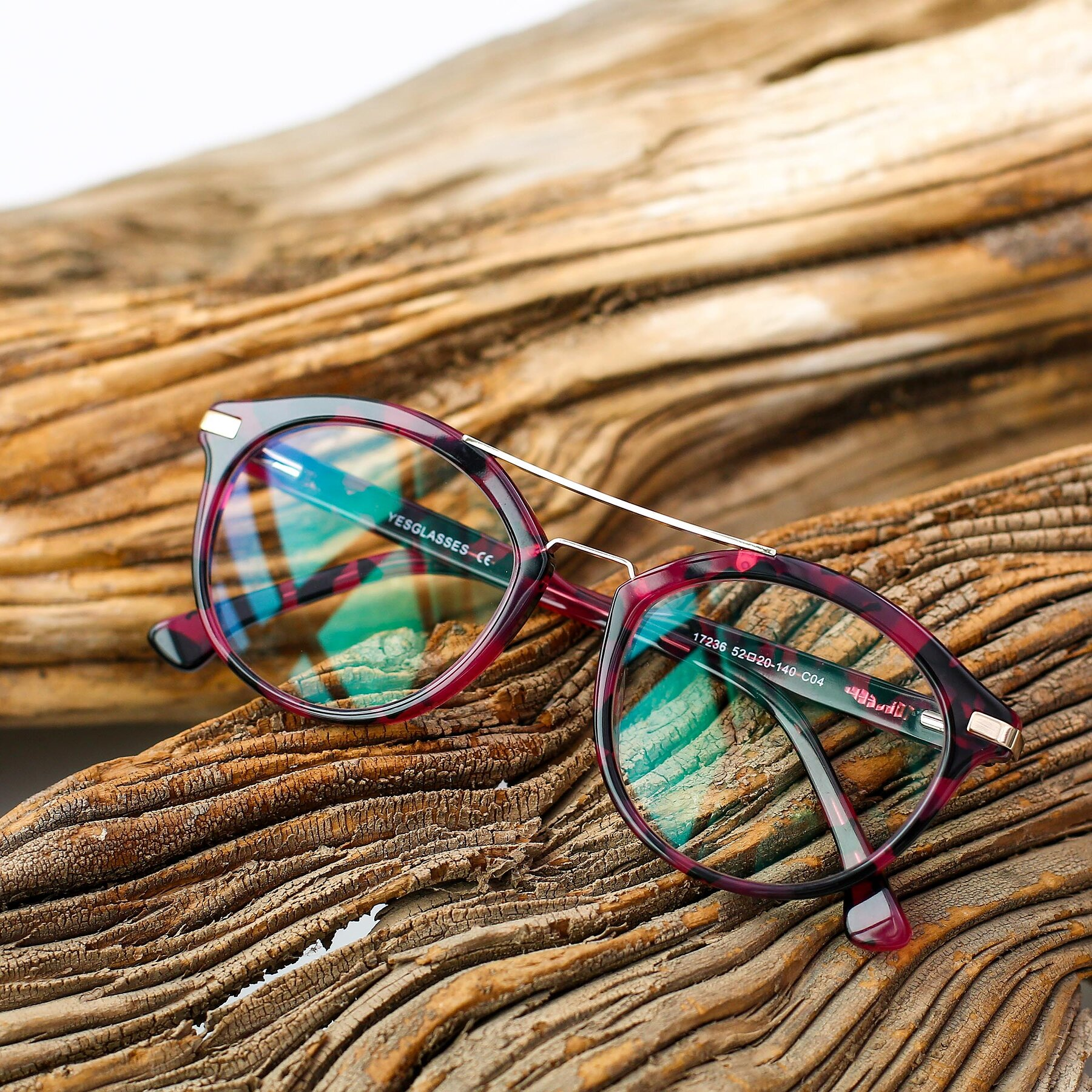 Women's lifestyle photography #1 of 17236 in Wine Tortoise with Clear Eyeglass Lenses