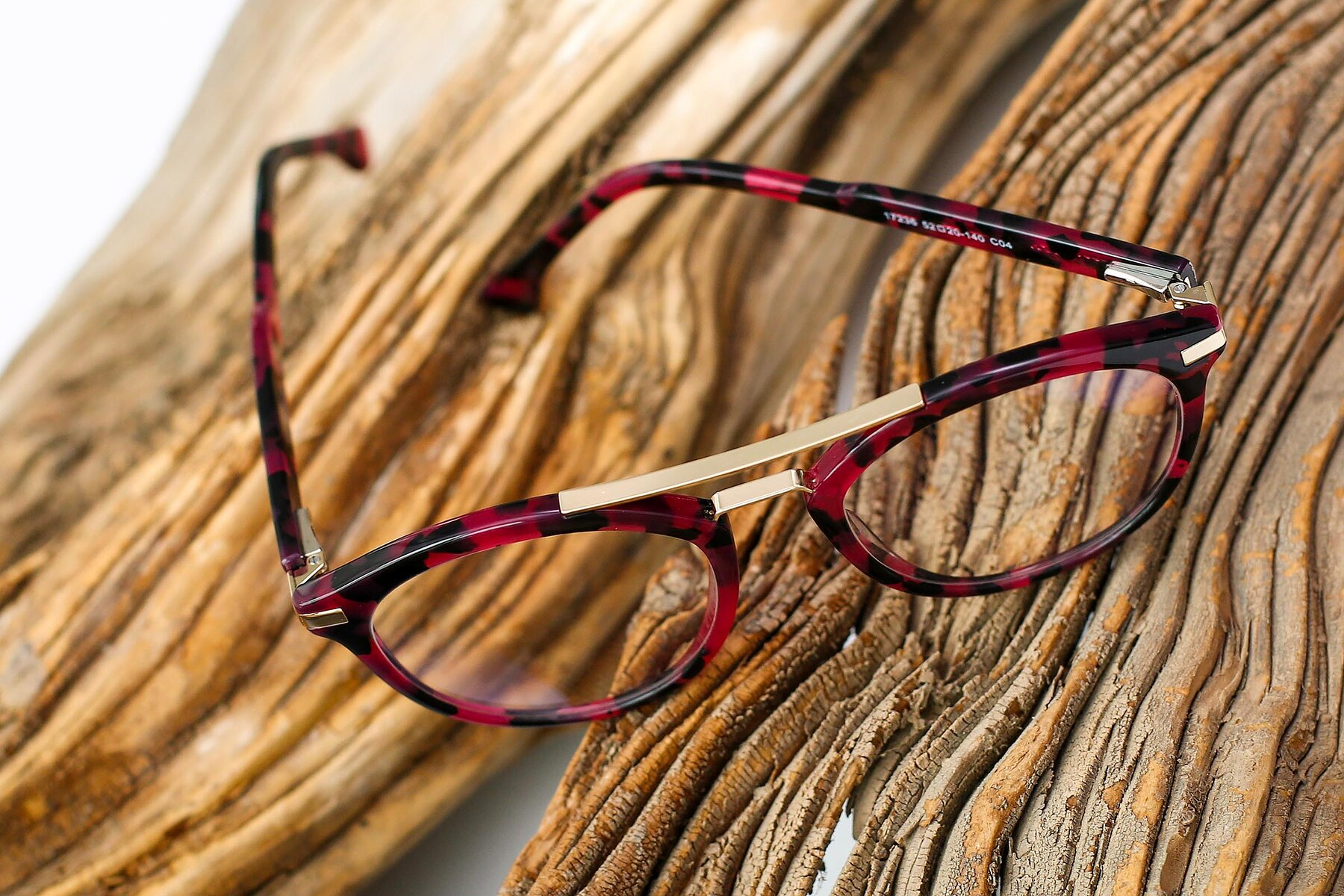 Women's lifestyle photography #2 of 17236 in Wine Tortoise with Clear Eyeglass Lenses