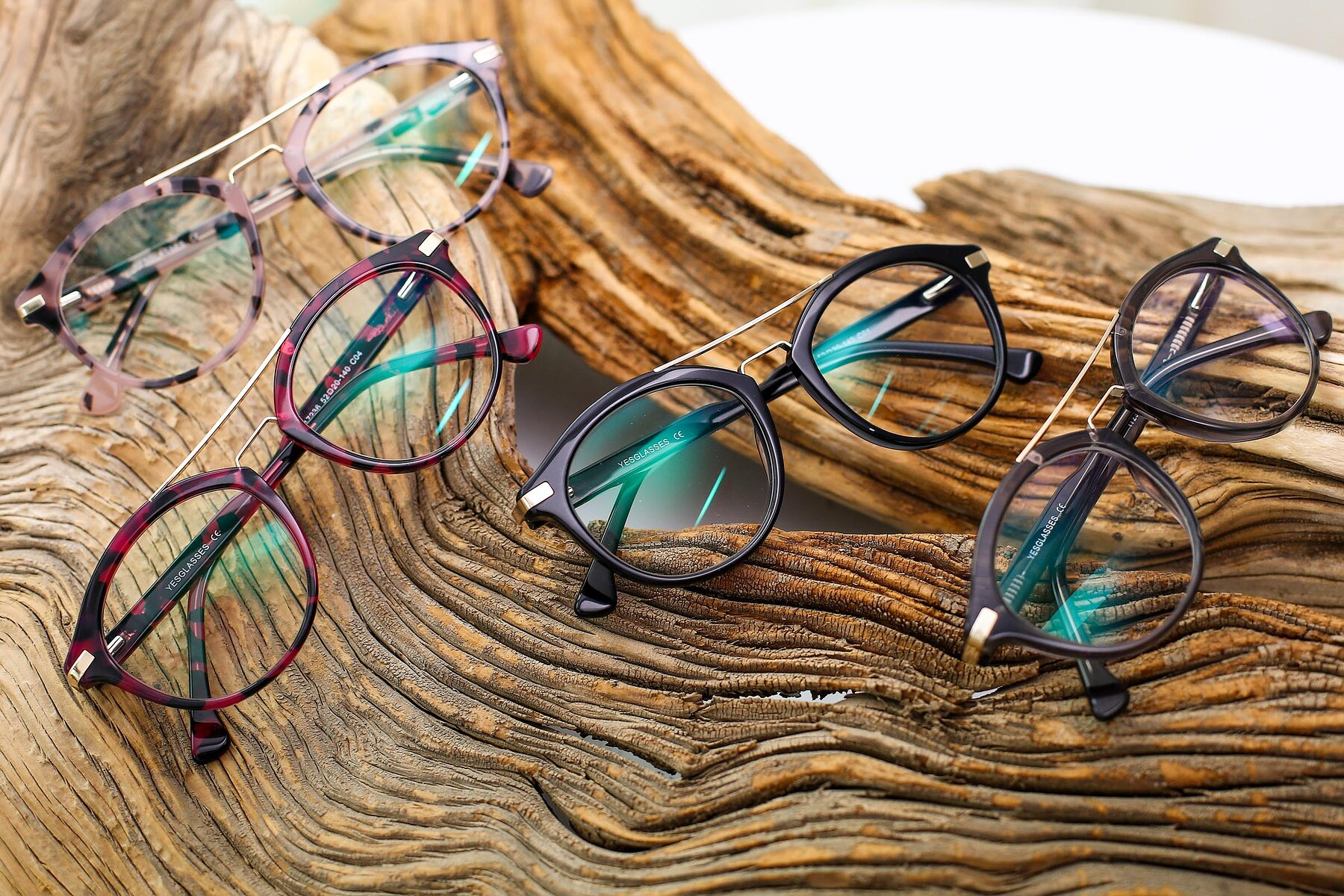 Women's lifestyle photography #4 of 17236 in Wine Tortoise with Clear Eyeglass Lenses
