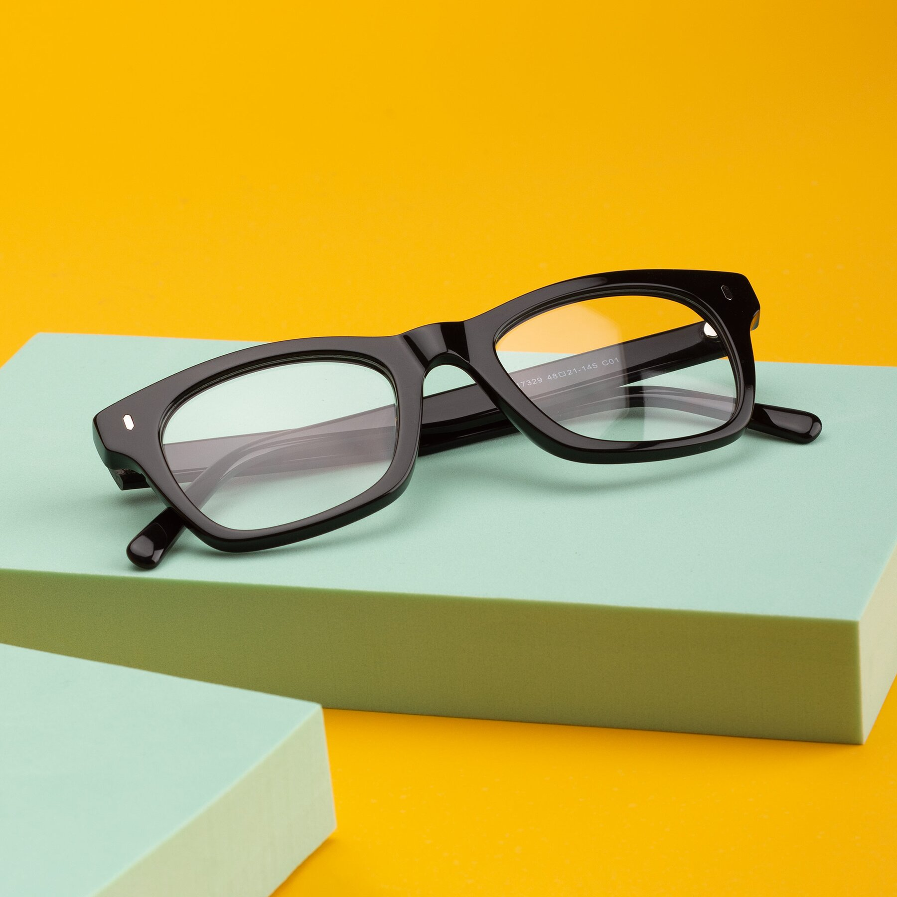 Lifestyle photography #1 of 17329 in Black with Clear Eyeglass Lenses