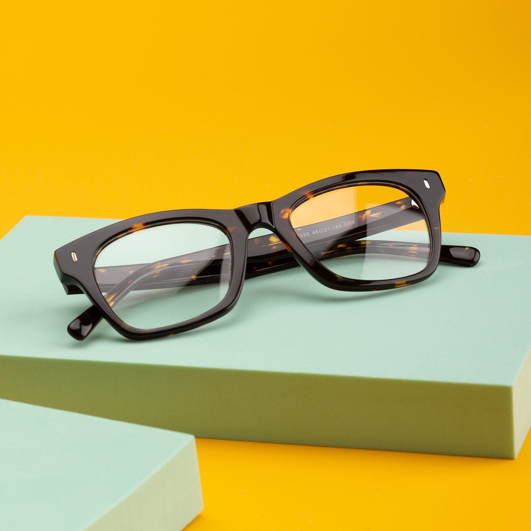 Lifestyle photography #1 of 17329 in Tortoise Brown with Clear Eyeglass Lenses