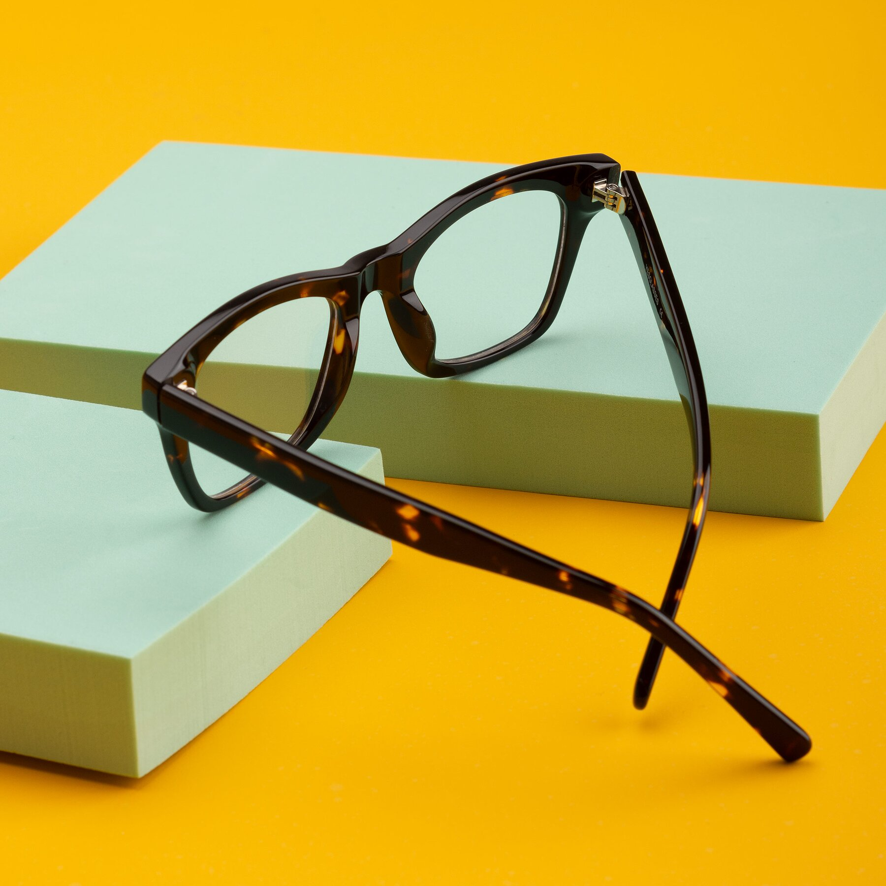 Lifestyle photography #2 of 17329 in Tortoise Brown with Clear Eyeglass Lenses