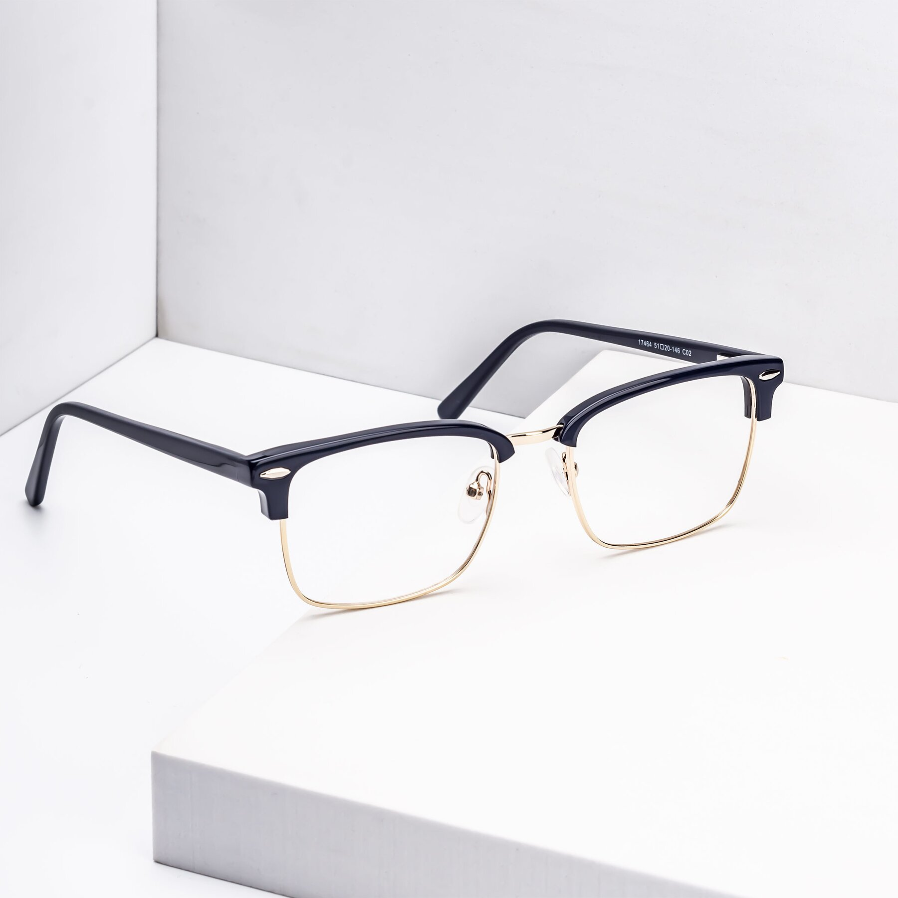 Men's lifestyle photography #1 of 17464 in Blue-Gold with Clear Blue Light Blocking Lenses