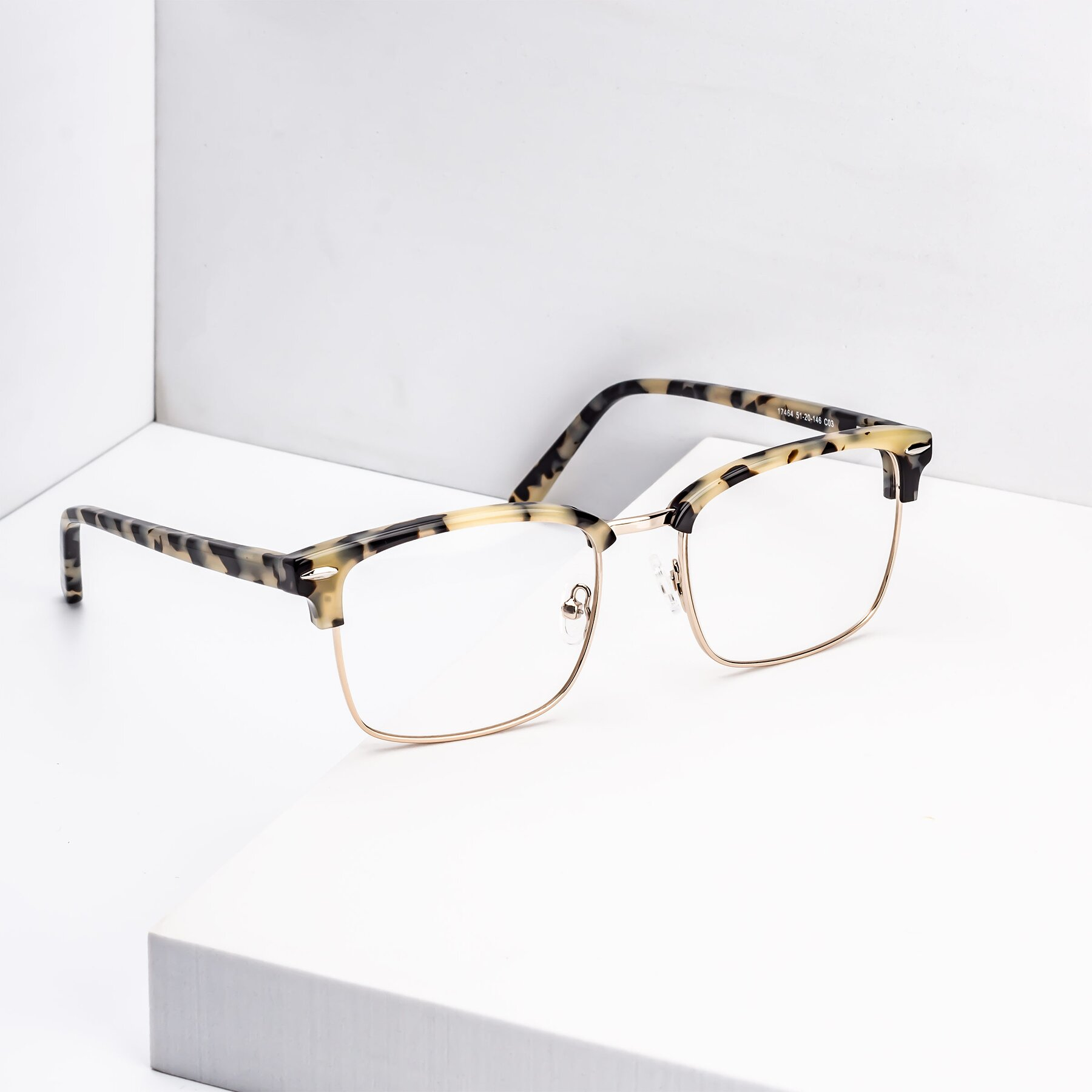Men's lifestyle photography #1 of 17464 in Tortoise-Gold with Clear Blue Light Blocking Lenses
