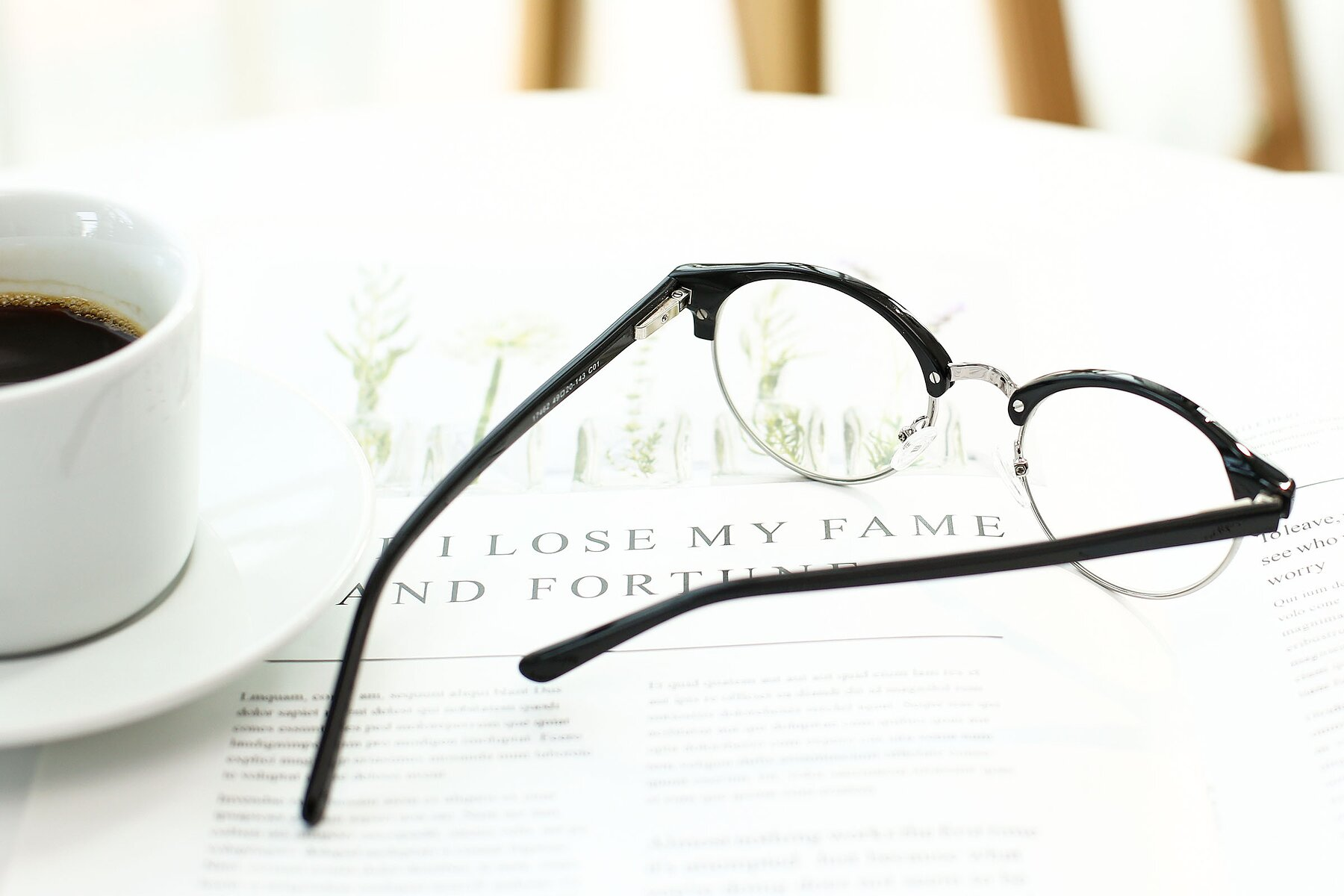 Lifestyle photography #3 of 17462 in Black-Silver with Clear Eyeglass Lenses