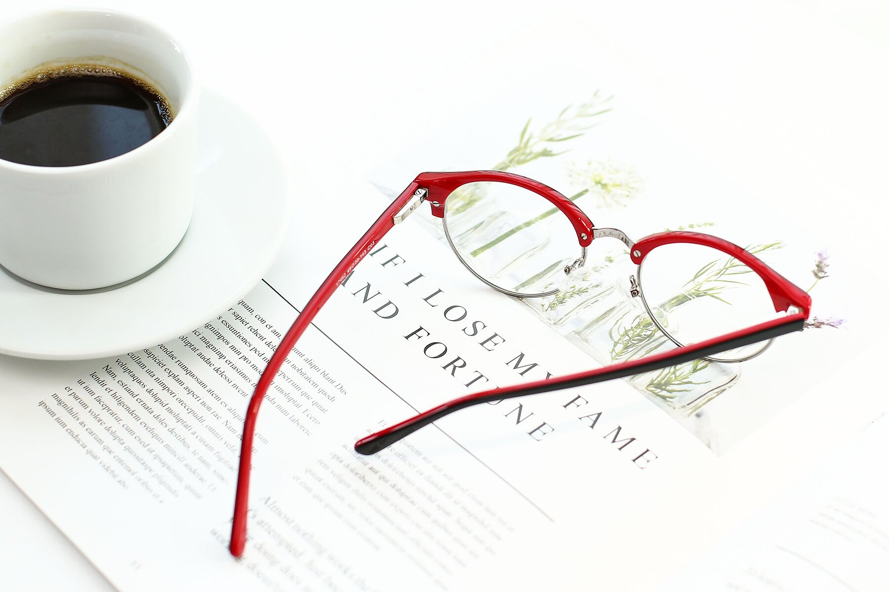 Lifestyle photography #3 of 17462 in Black-Wine with Clear Eyeglass Lenses