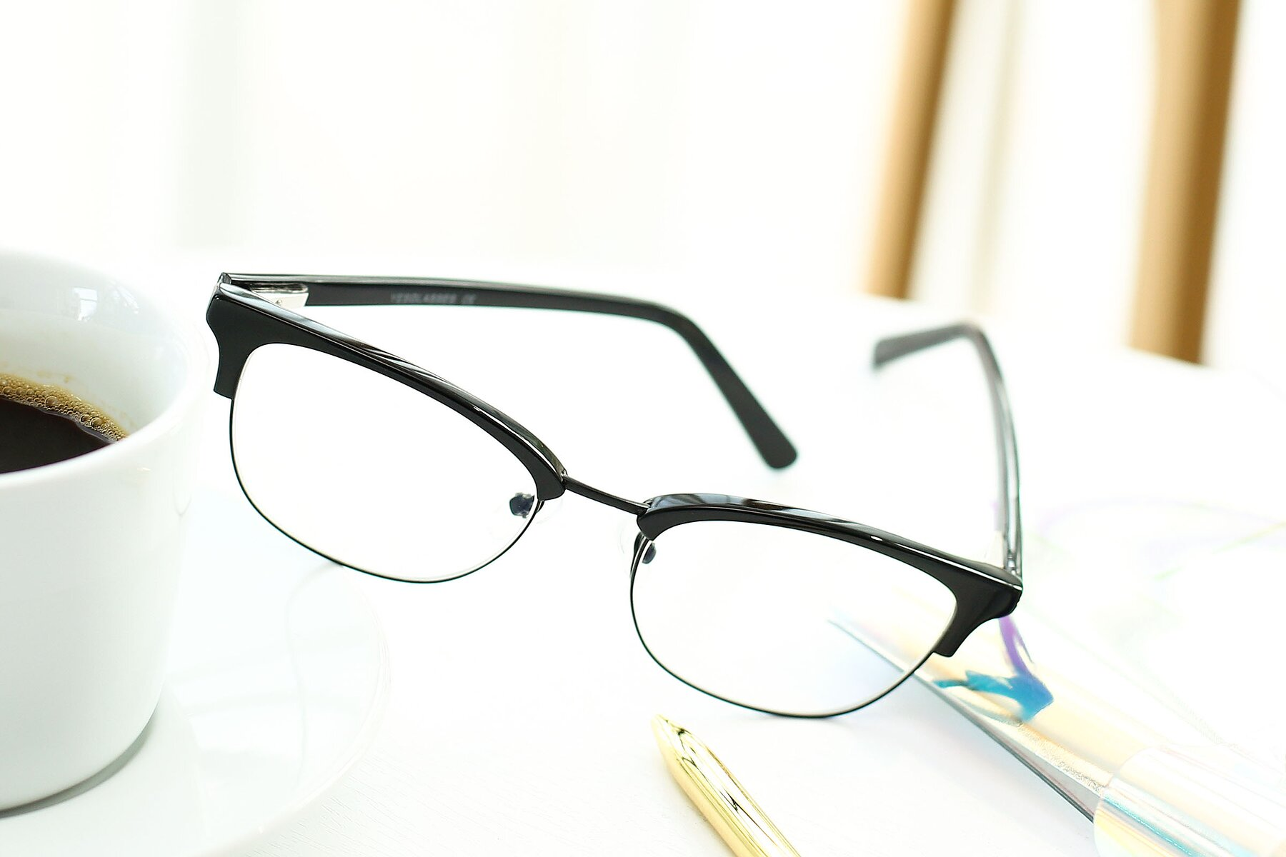 Lifestyle photography #2 of 17463 in Black with Clear Eyeglass Lenses