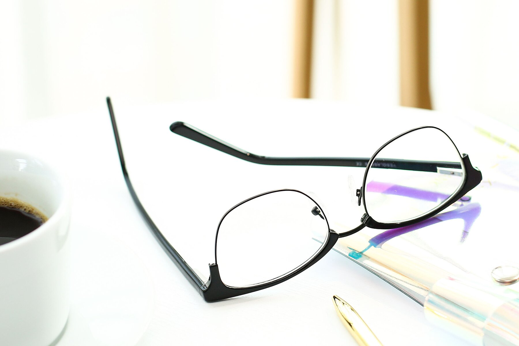 Lifestyle photography #3 of 17463 in Black with Clear Eyeglass Lenses