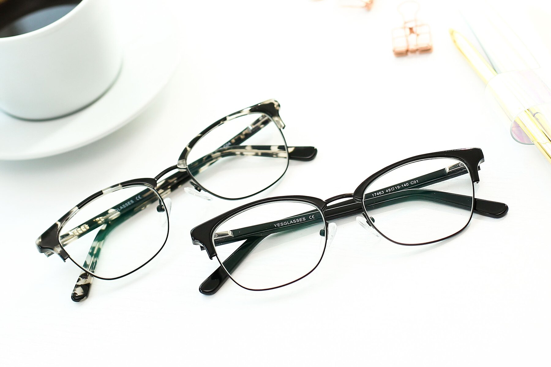 Lifestyle photography #4 of 17463 in Black with Clear Eyeglass Lenses