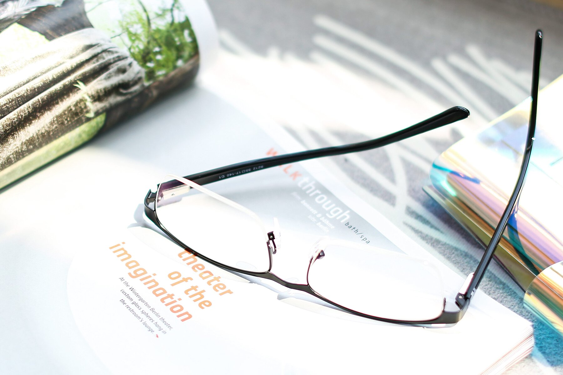 Men's lifestyle photography #2 of 9212 in Gunmetal with Clear Eyeglass Lenses