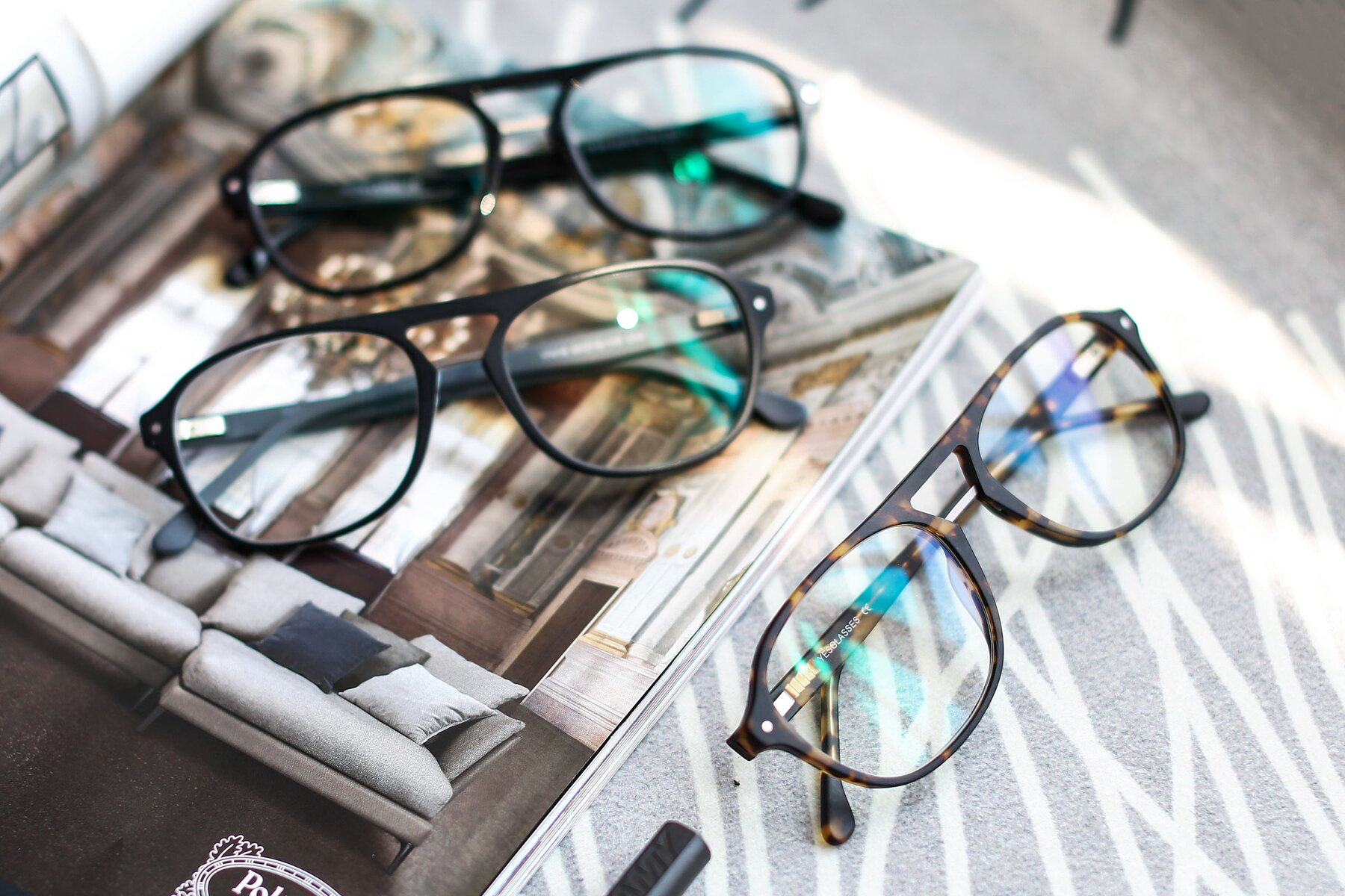 Lifestyle photography #4 of 17416 in Matt Tortoise with Clear Eyeglass Lenses