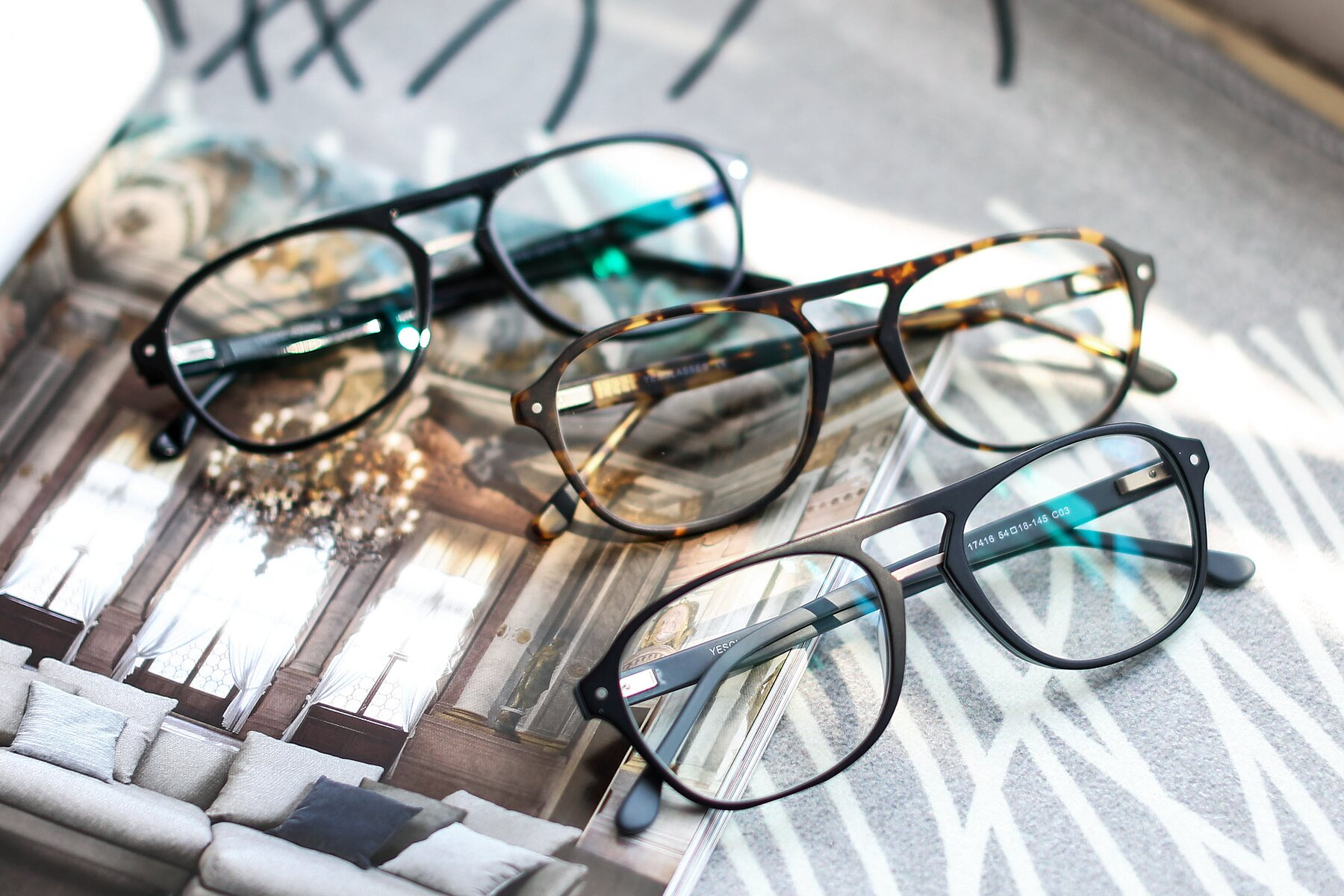 Lifestyle photography #4 of 17416 in Matt Black with Clear Eyeglass Lenses