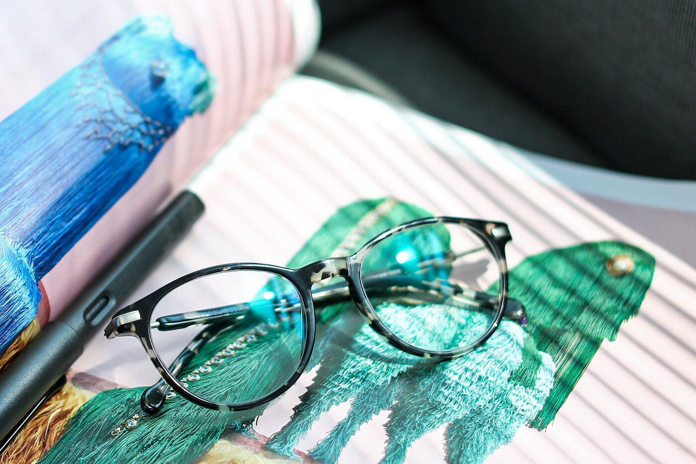Tortoise Hipster Wayfarer Acetate Eyeglasses