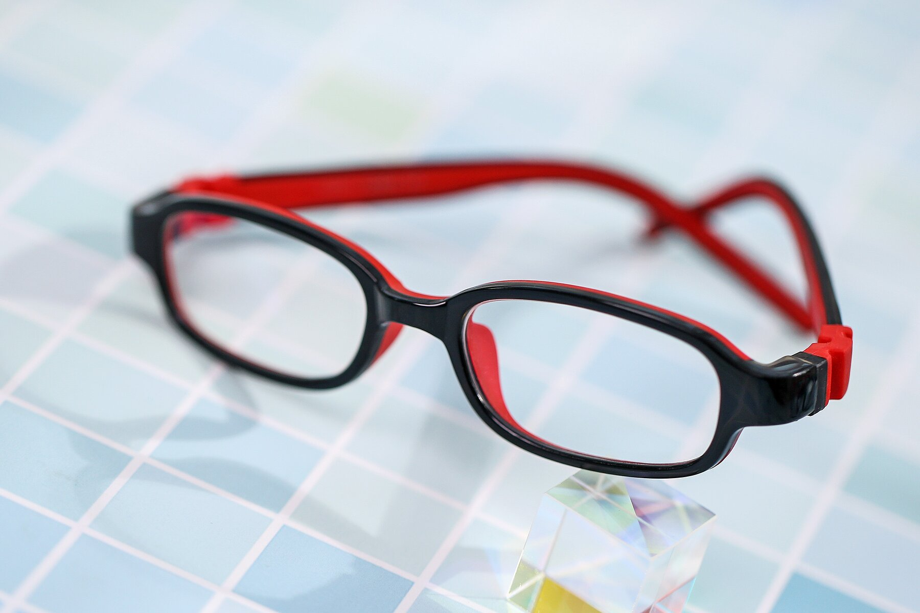 Lifestyle photography #1 of 515 in Black-Red with Clear Eyeglass Lenses