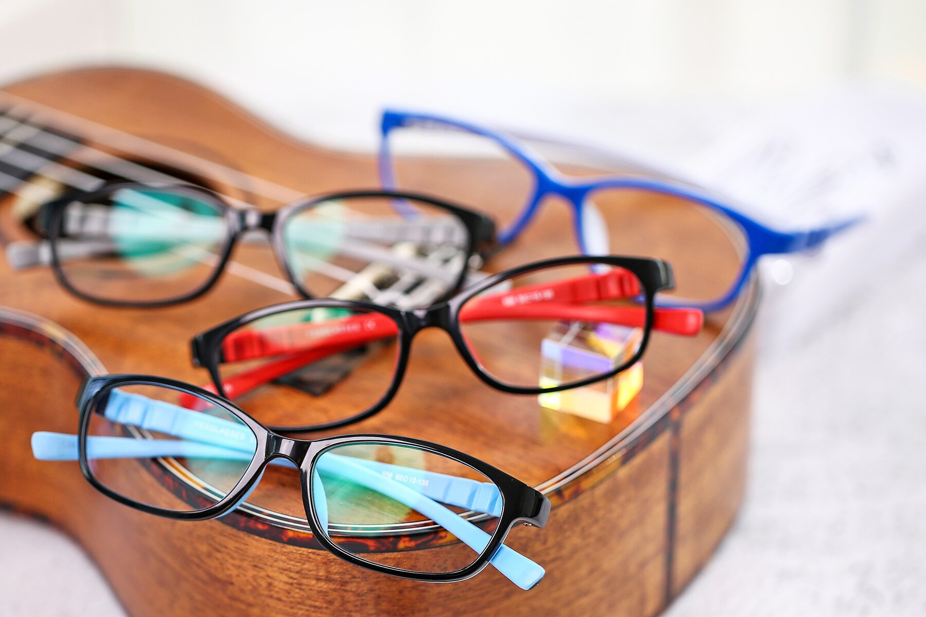 Lifestyle photography #4 of 556 in Black-Sky Blue with Clear Blue Light Blocking Lenses