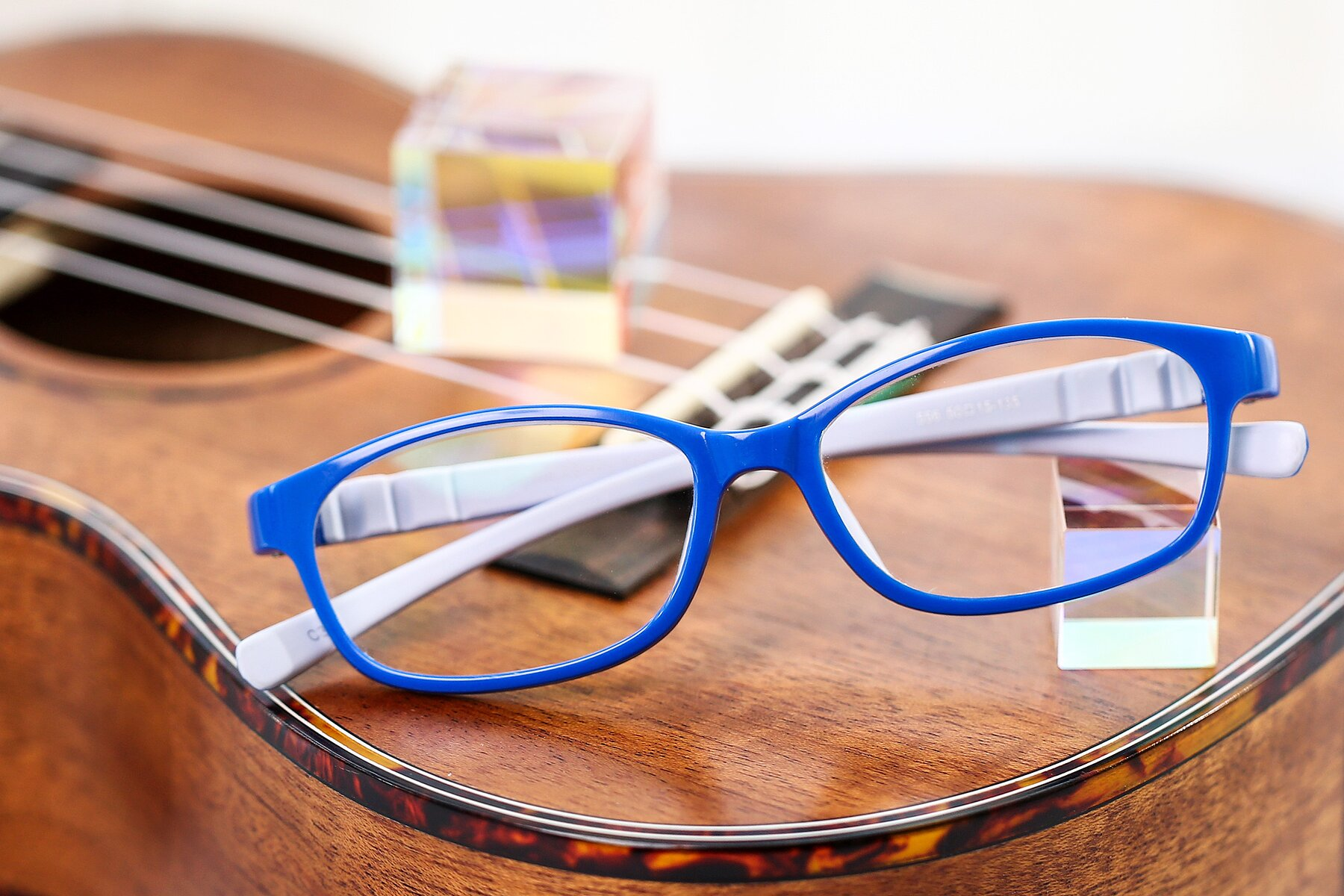 Lifestyle photography #1 of 556 in Blue-Gray with Clear Blue Light Blocking Lenses