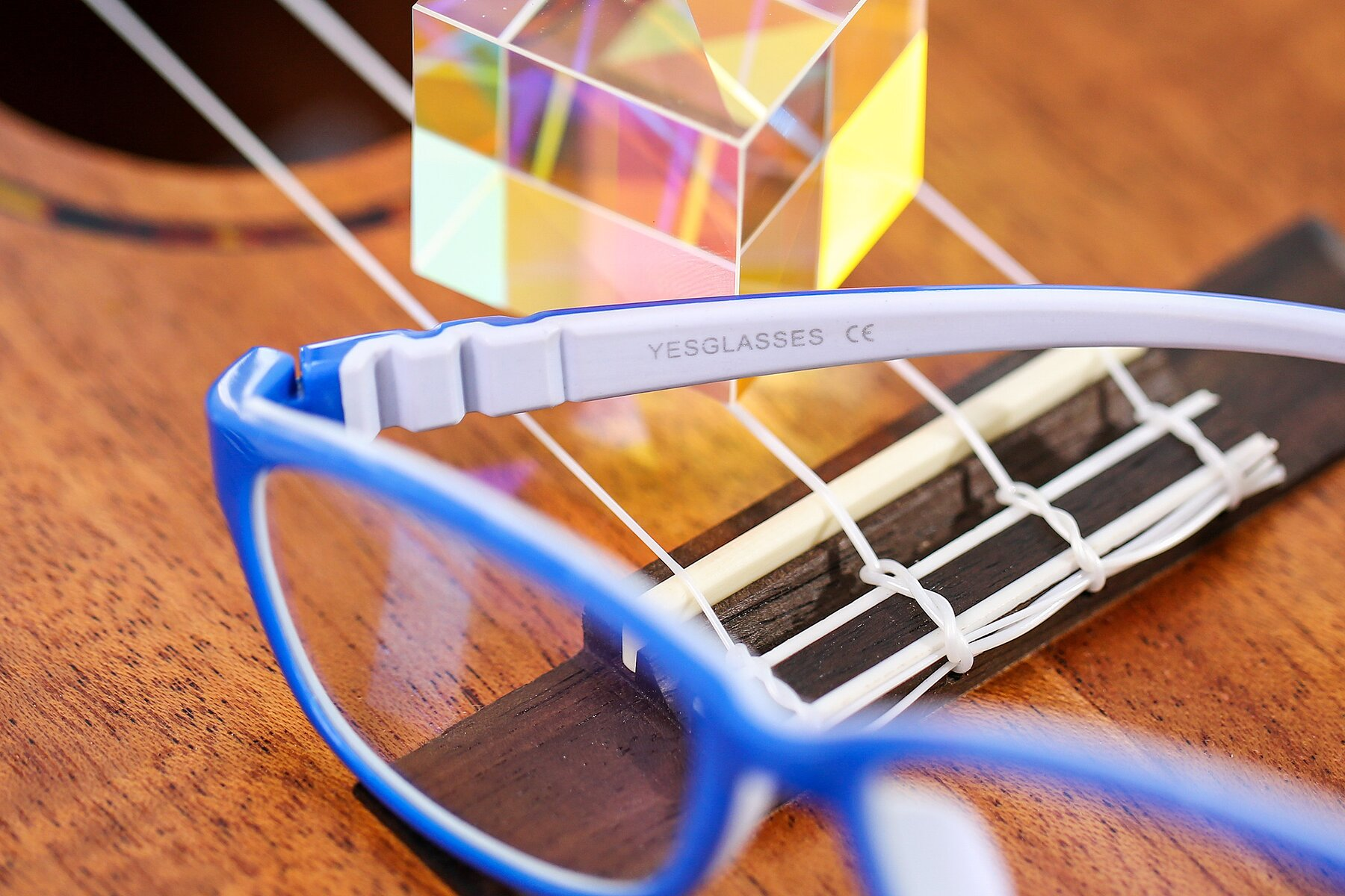 Lifestyle photography #3 of 556 in Blue-Gray with Clear Blue Light Blocking Lenses