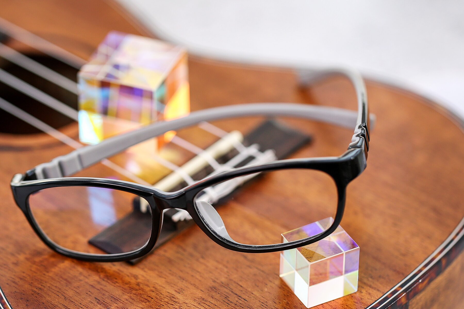 Lifestyle photography #2 of 556 in Black-Gray with Clear Eyeglass Lenses