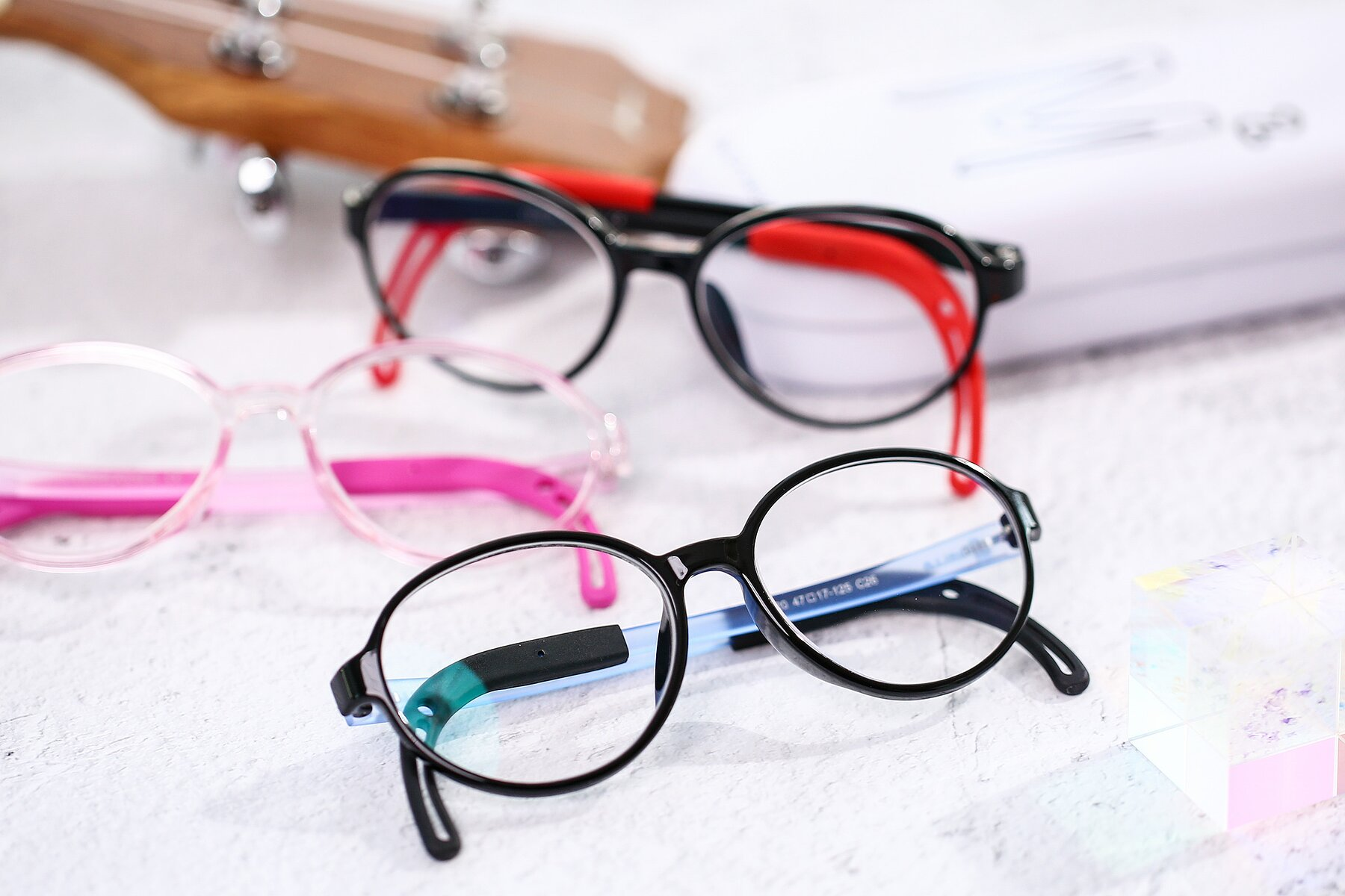 Lifestyle photography #4 of 1020 in Black-Blue with Clear Eyeglass Lenses