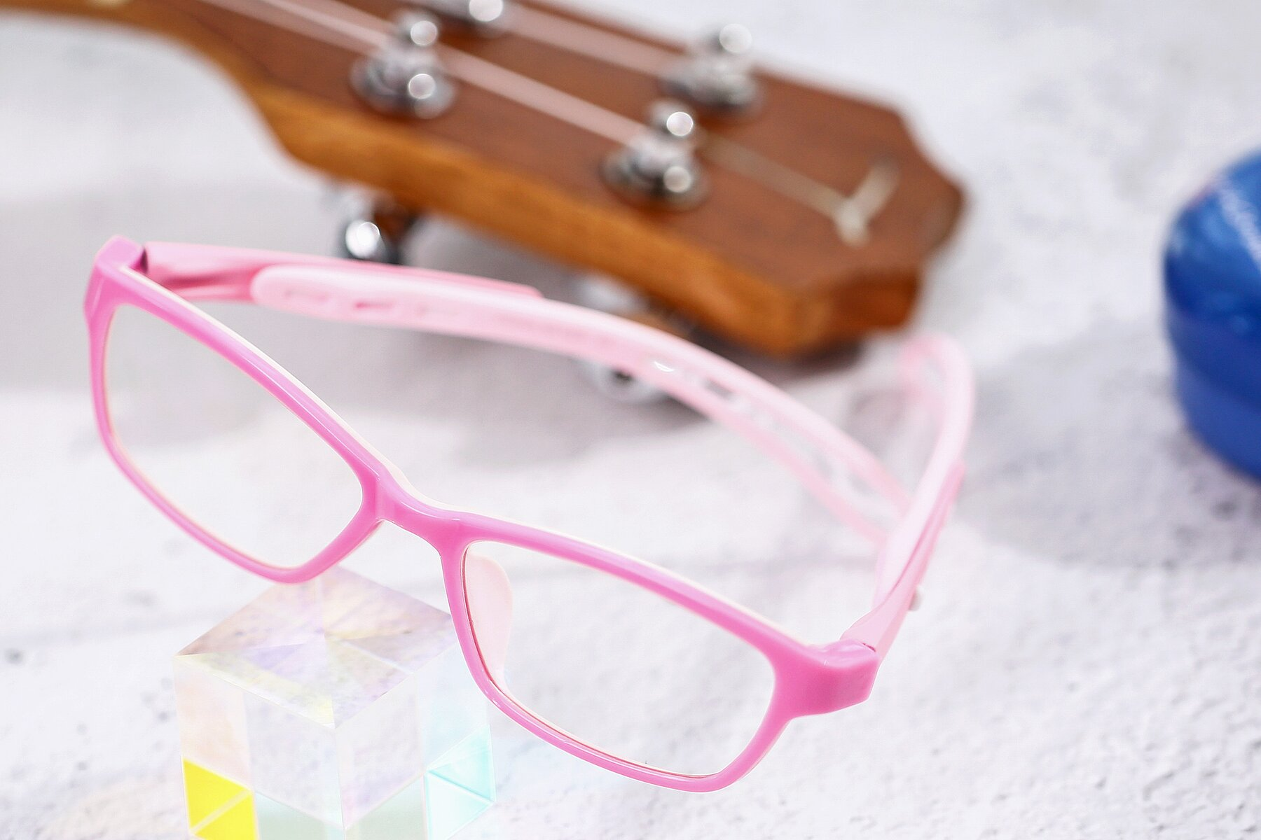 Women's lifestyle photography #2 of 1075 in Pink with Clear Eyeglass Lenses