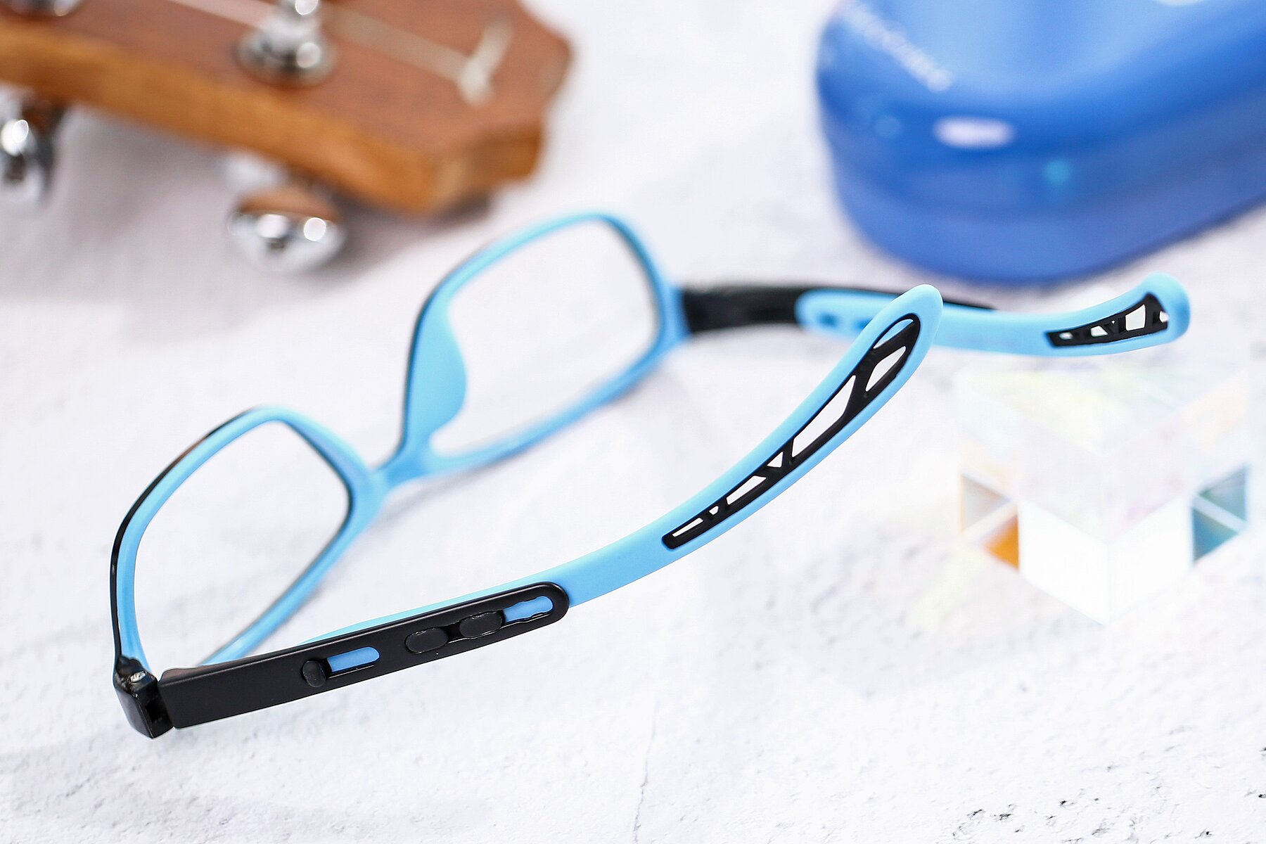 Lifestyle photography #2 of 1075 in Black-Blue with Clear Eyeglass Lenses