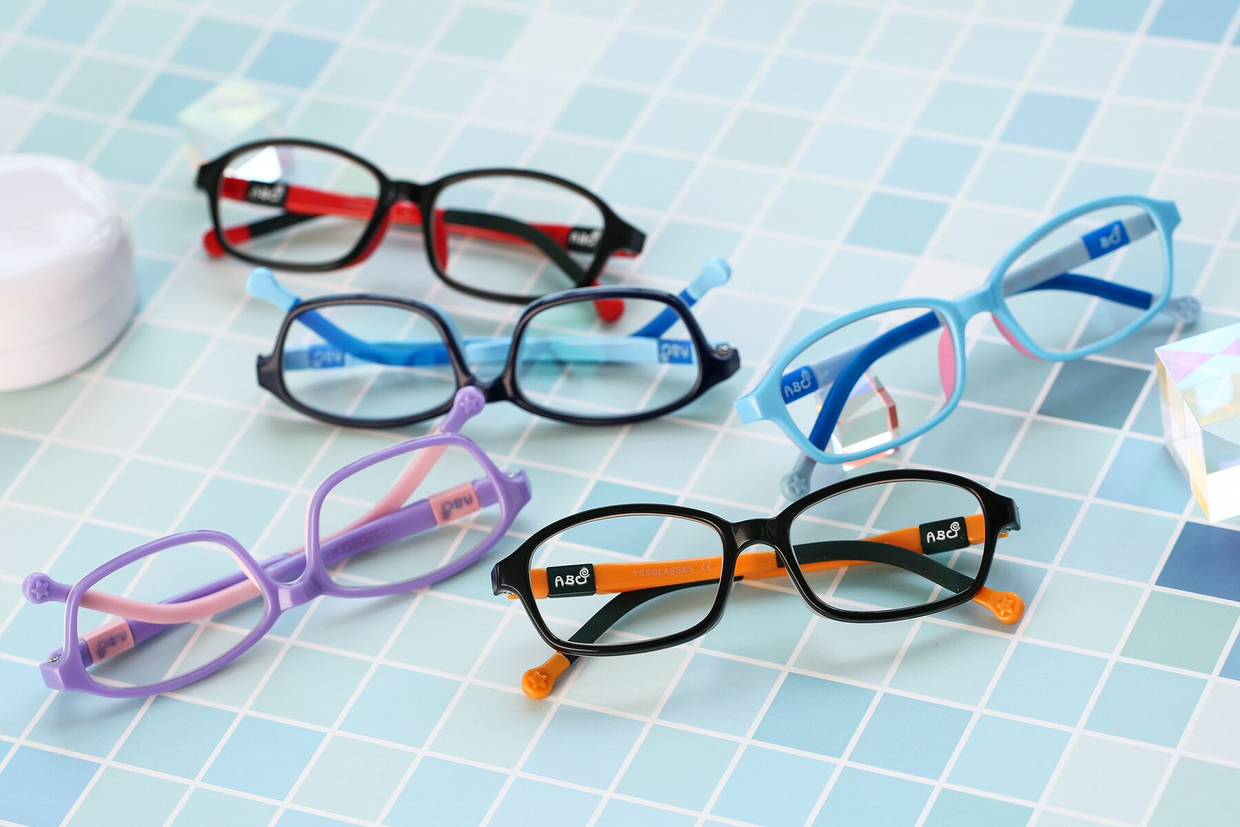 Lifestyle photography #4 of 533 in Black-Orange with Clear Blue Light Blocking Lenses