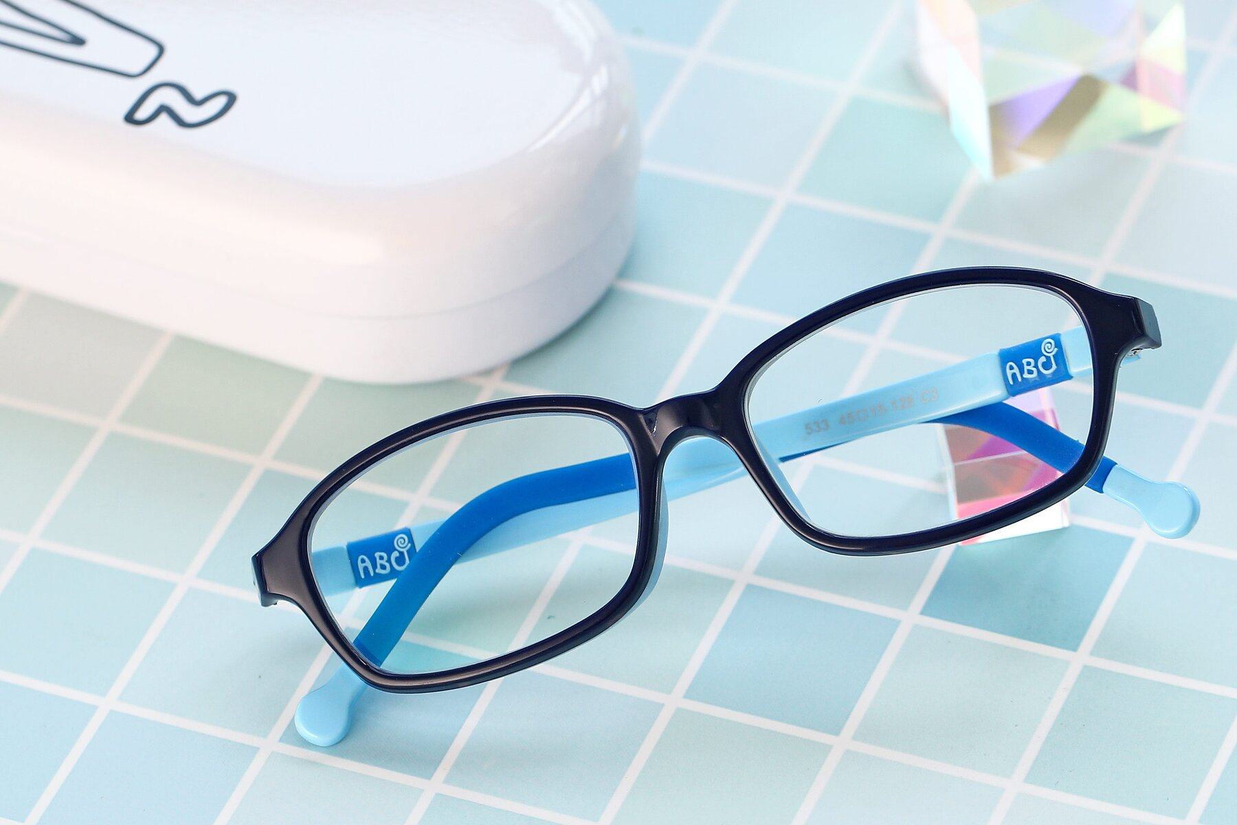 Lifestyle photography #1 of 533 in Black-Blue with Clear Blue Light Blocking Lenses