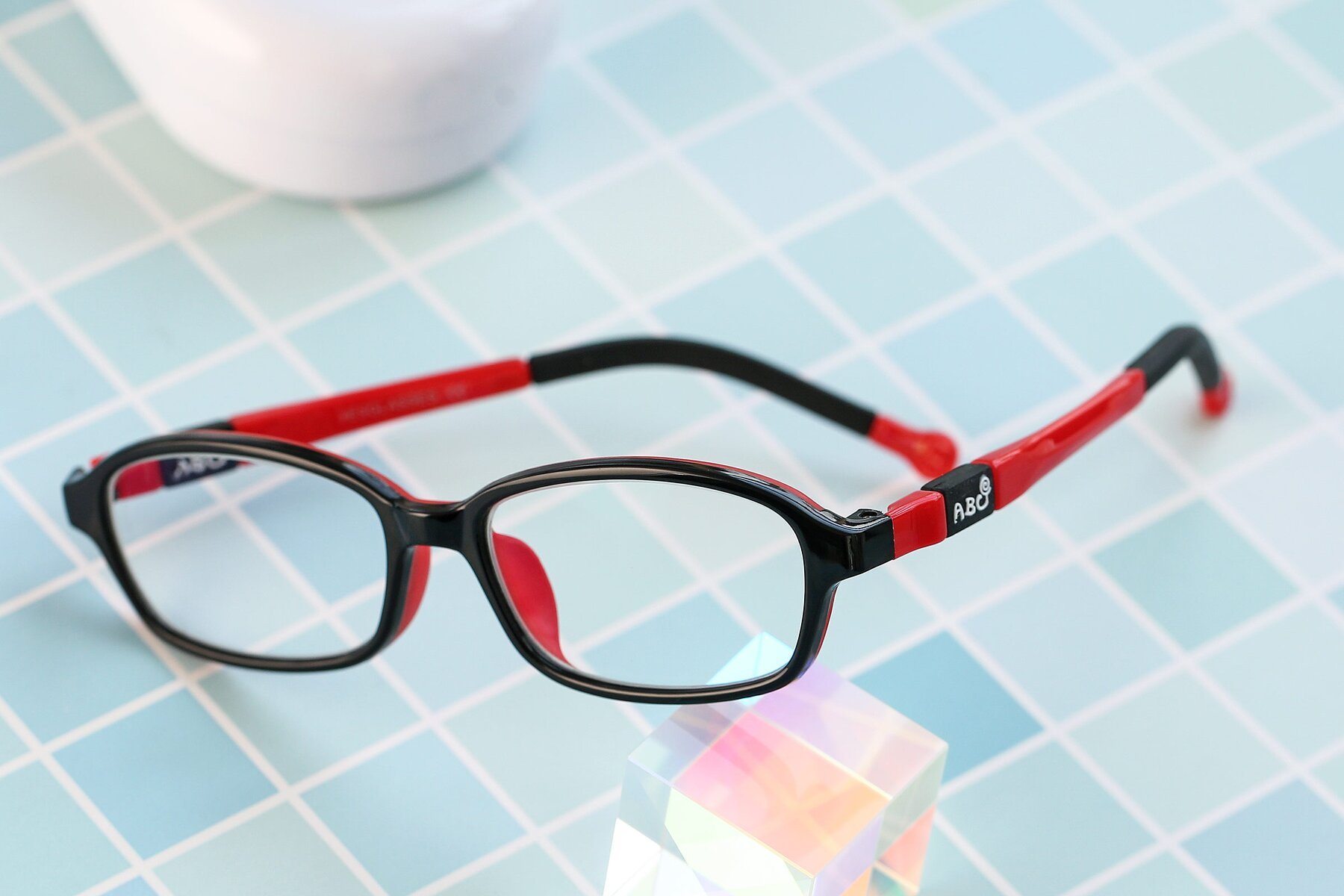 Lifestyle photography #2 of 533 in Black-Red with Clear Eyeglass Lenses