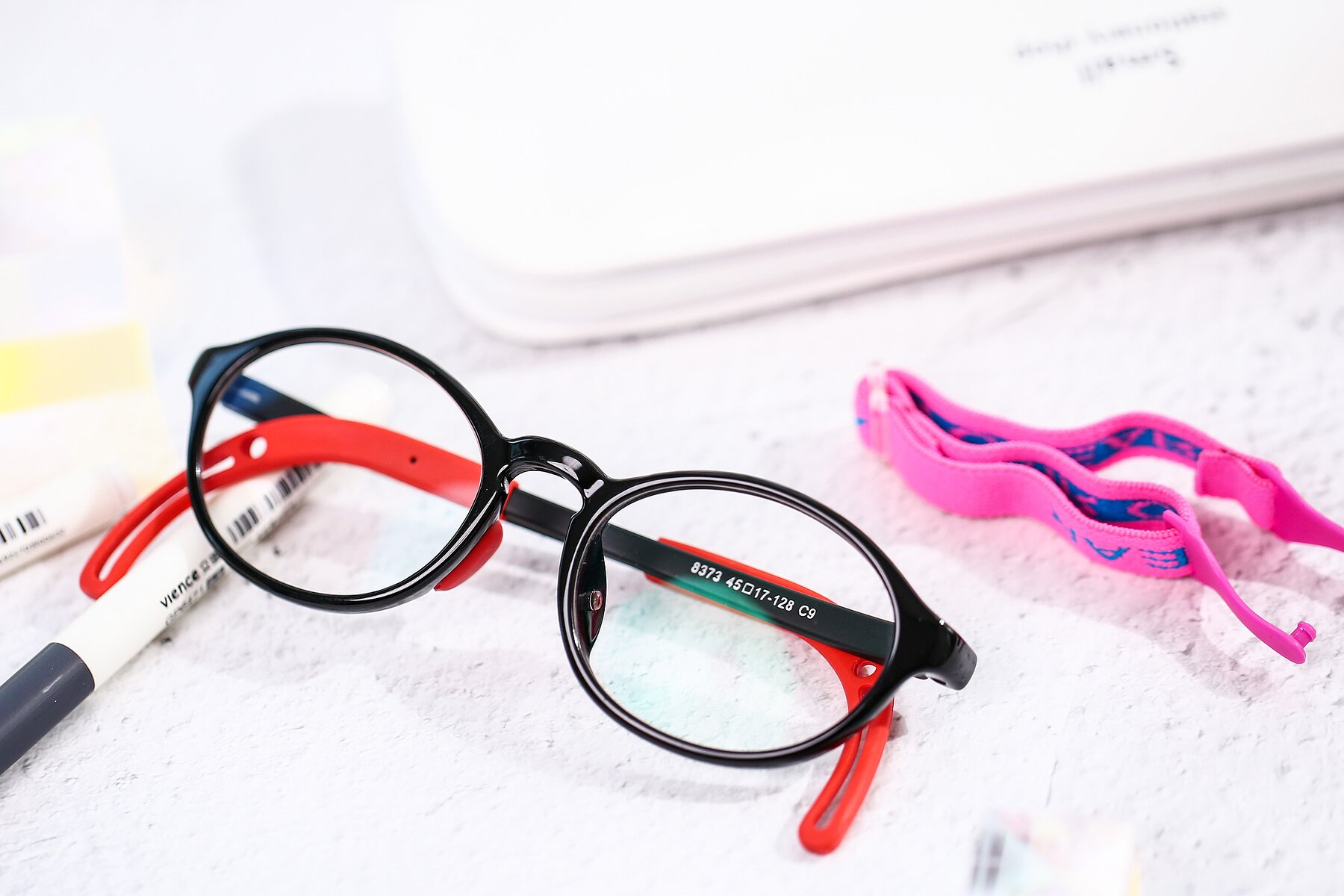 Lifestyle photography #1 of 8373 in Black-Red with Clear Blue Light Blocking Lenses