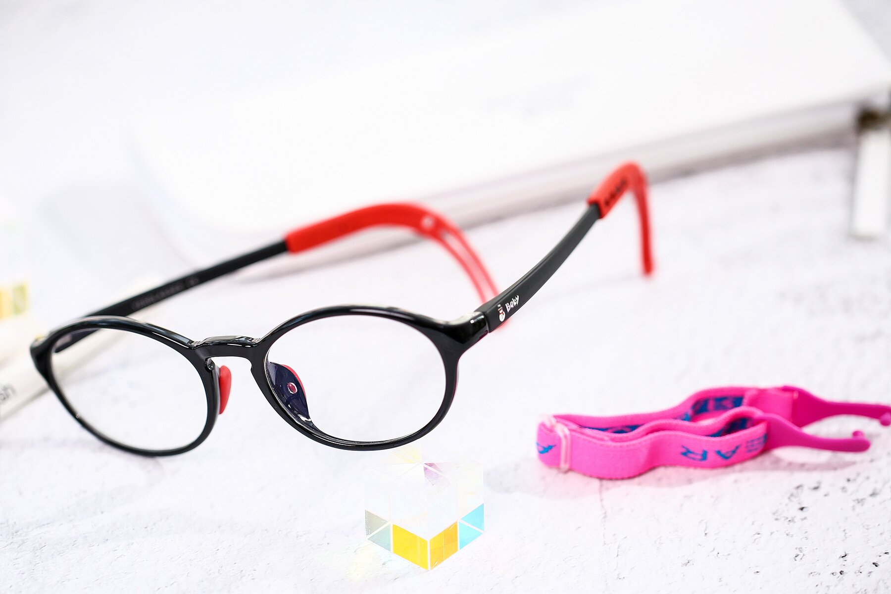 Lifestyle photography #2 of 8373 in Black-Red with Clear Eyeglass Lenses