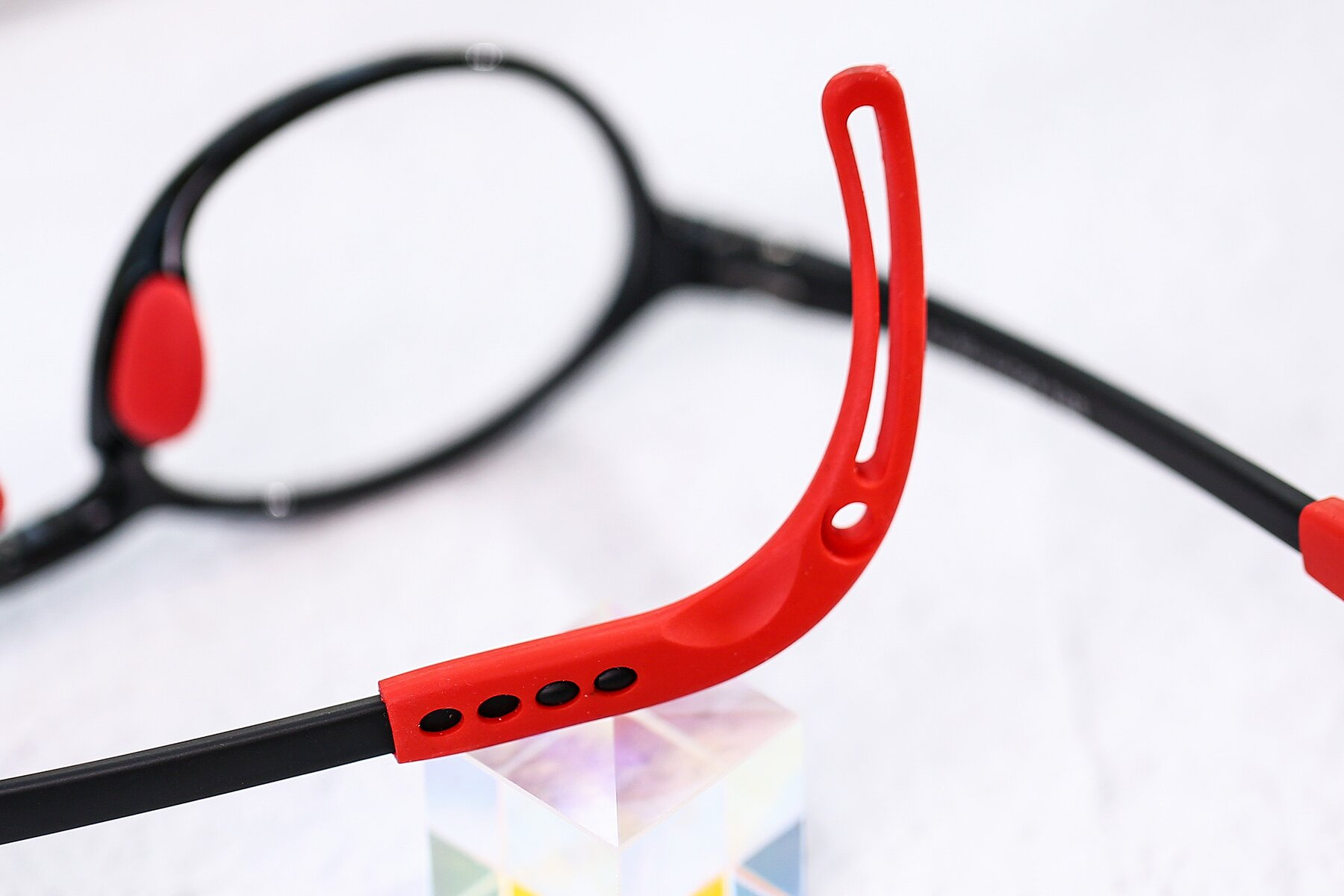 Lifestyle photography #3 of 8373 in Black-Red with Clear Eyeglass Lenses