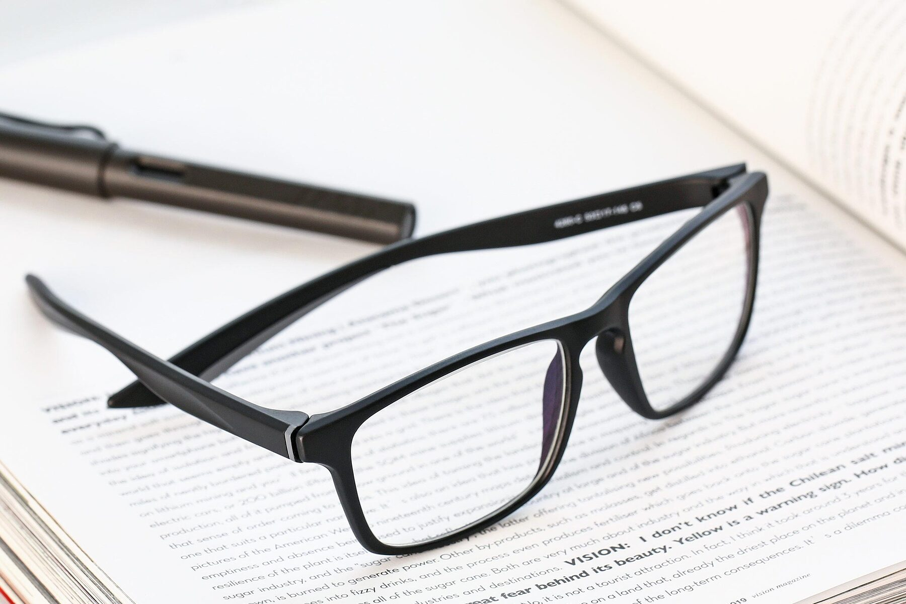 Lifestyle photography #2 of AC4280 in Matte Black-Gray with Clear Eyeglass Lenses
