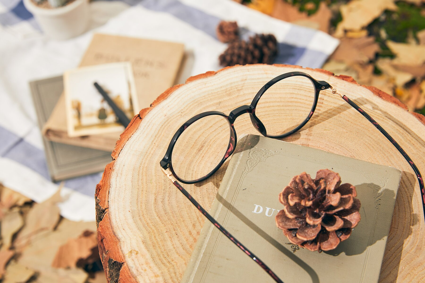Lifestyle photography #2 of 12026 in Tortoise with Clear Eyeglass Lenses