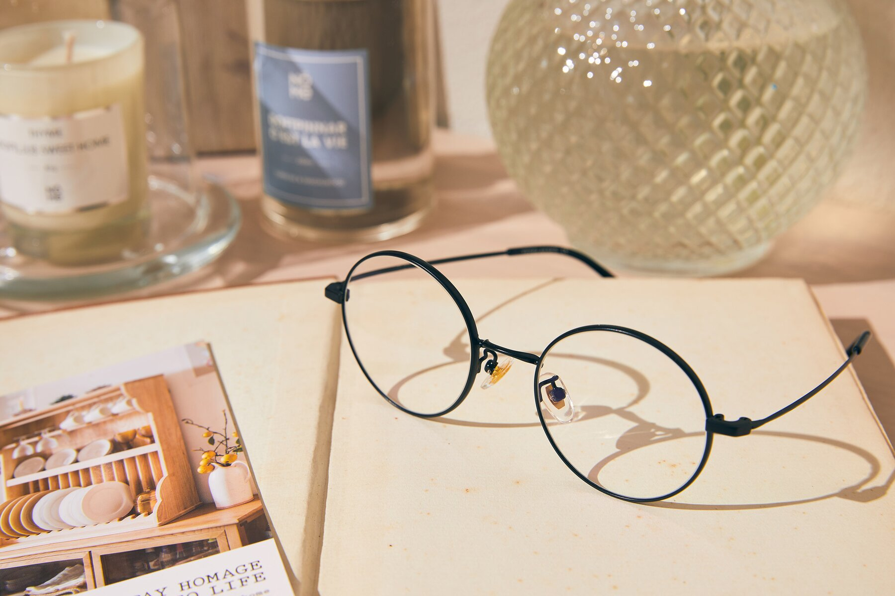 Lifestyle photography #2 of LT2096 in Black with Clear Eyeglass Lenses