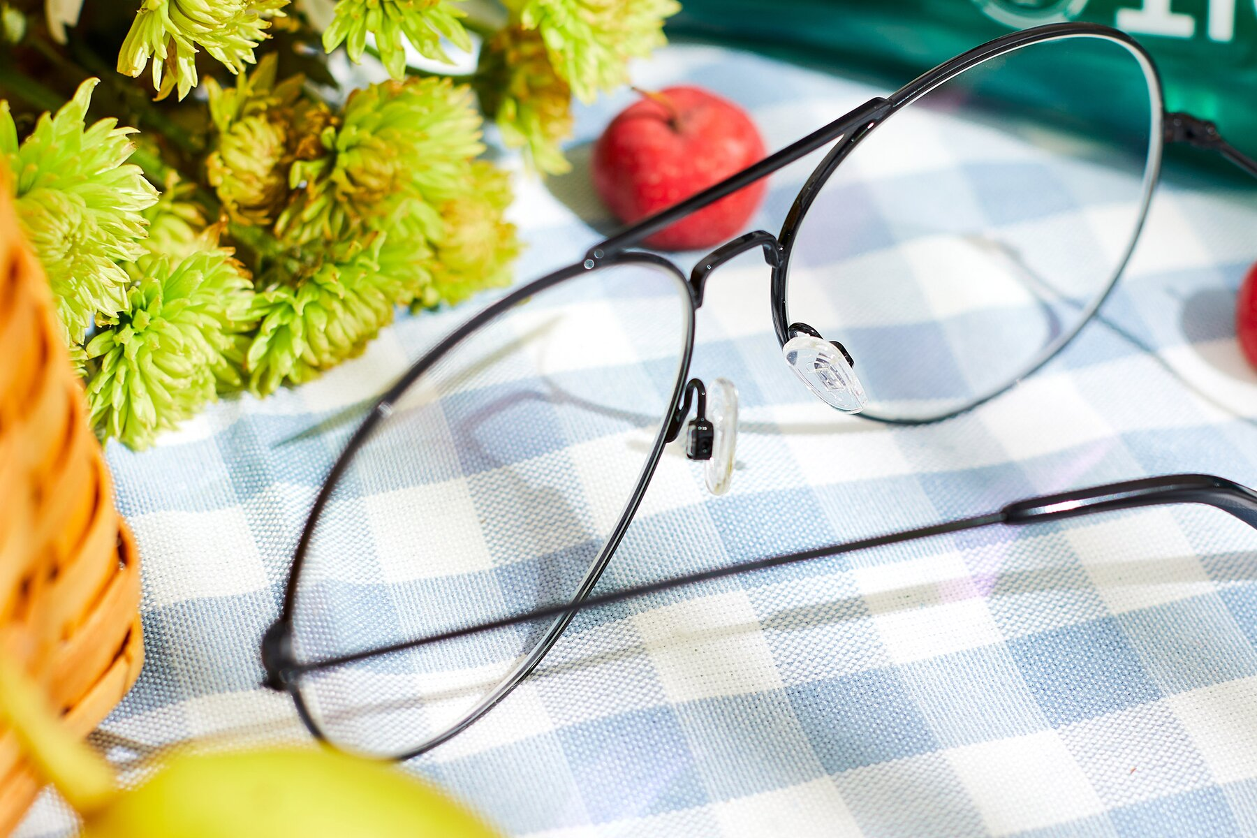 Lifestyle photography #3 of Paradise in Black with Clear Eyeglass Lenses