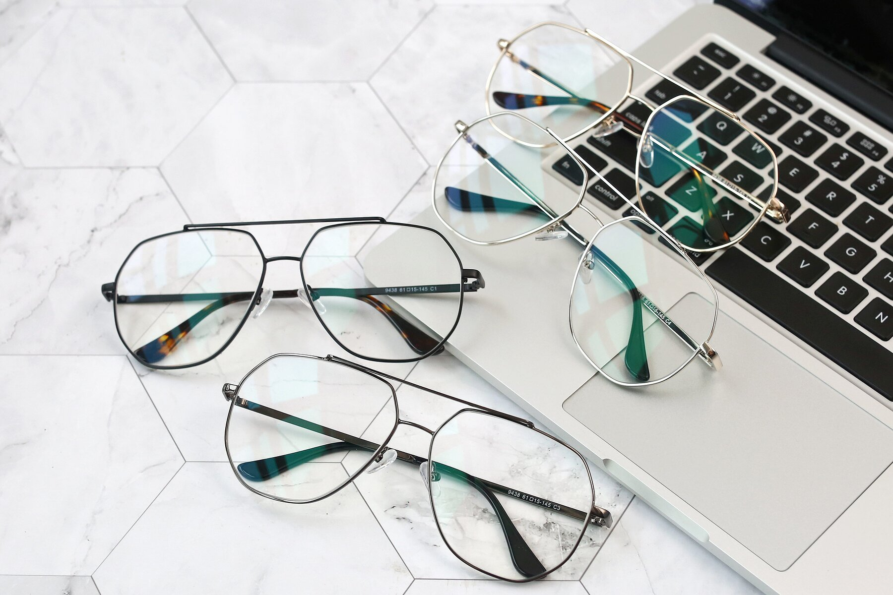 Lifestyle photography #4 of 9438 in Gunmetal with Clear Blue Light Blocking Lenses