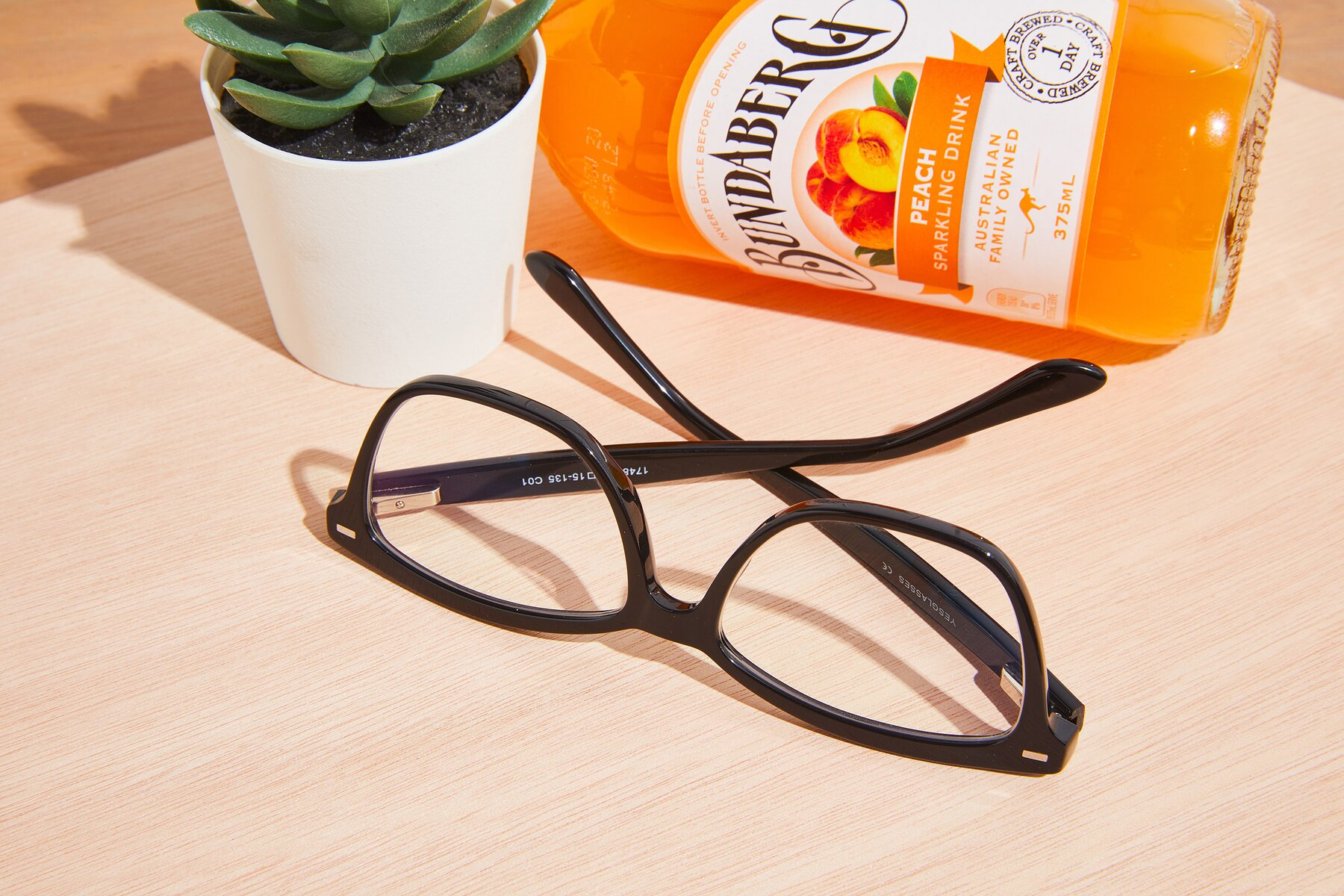 Lifestyle photography #2 of 17485 in Black with Clear Eyeglass Lenses