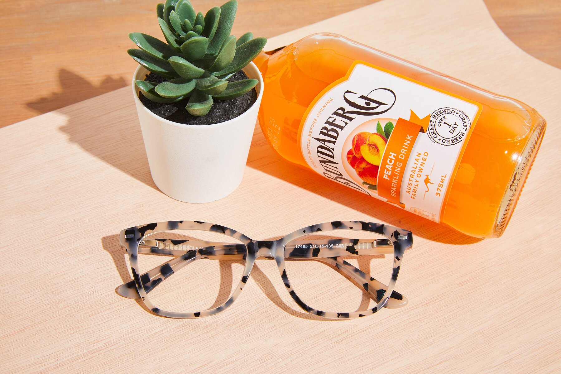 Lifestyle photography #1 of 17485 in Honey Tortoise with Clear Eyeglass Lenses