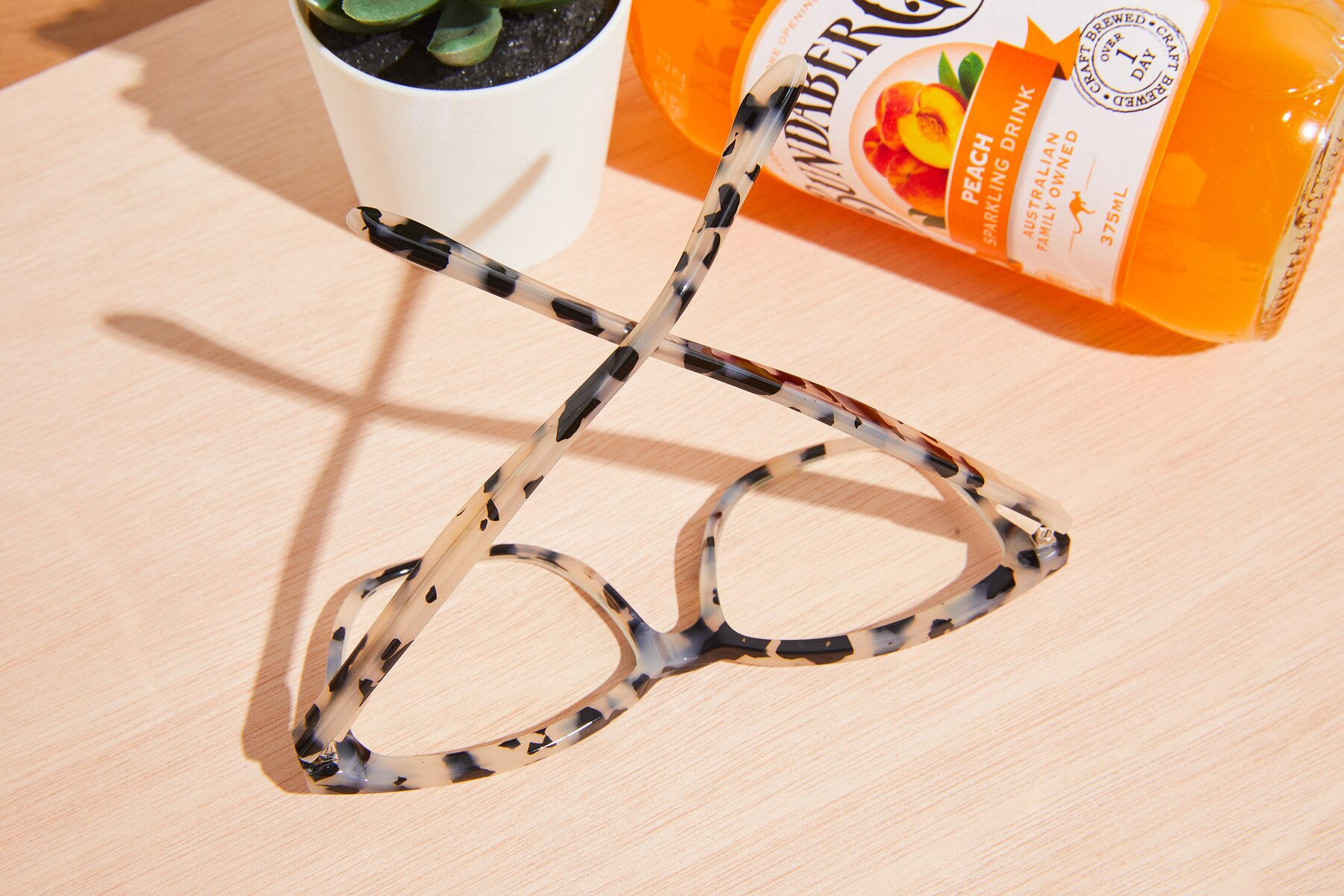 Lifestyle photography #3 of 17485 in Honey Tortoise with Clear Eyeglass Lenses