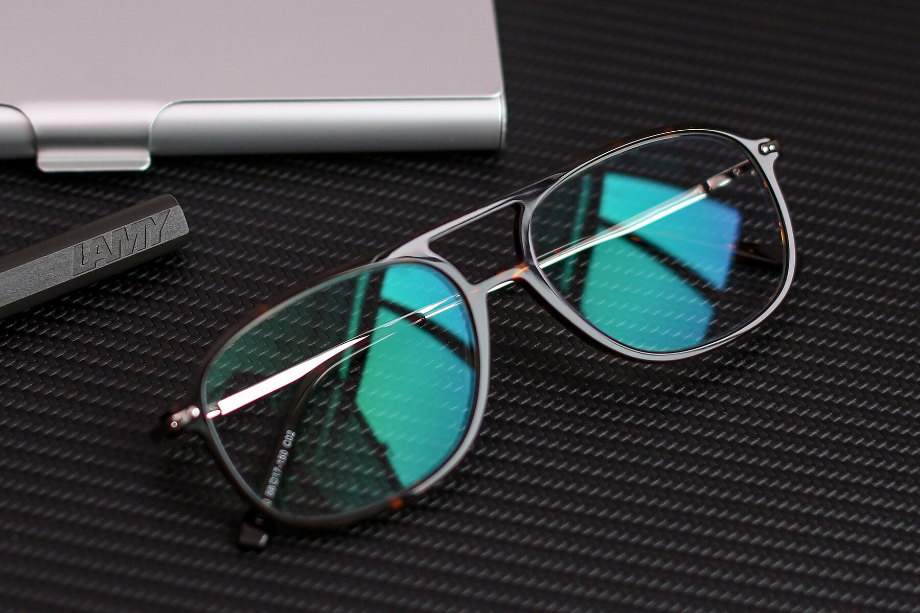 Lifestyle photography #1 of 17580 in Tortoise with Clear Blue Light Blocking Lenses