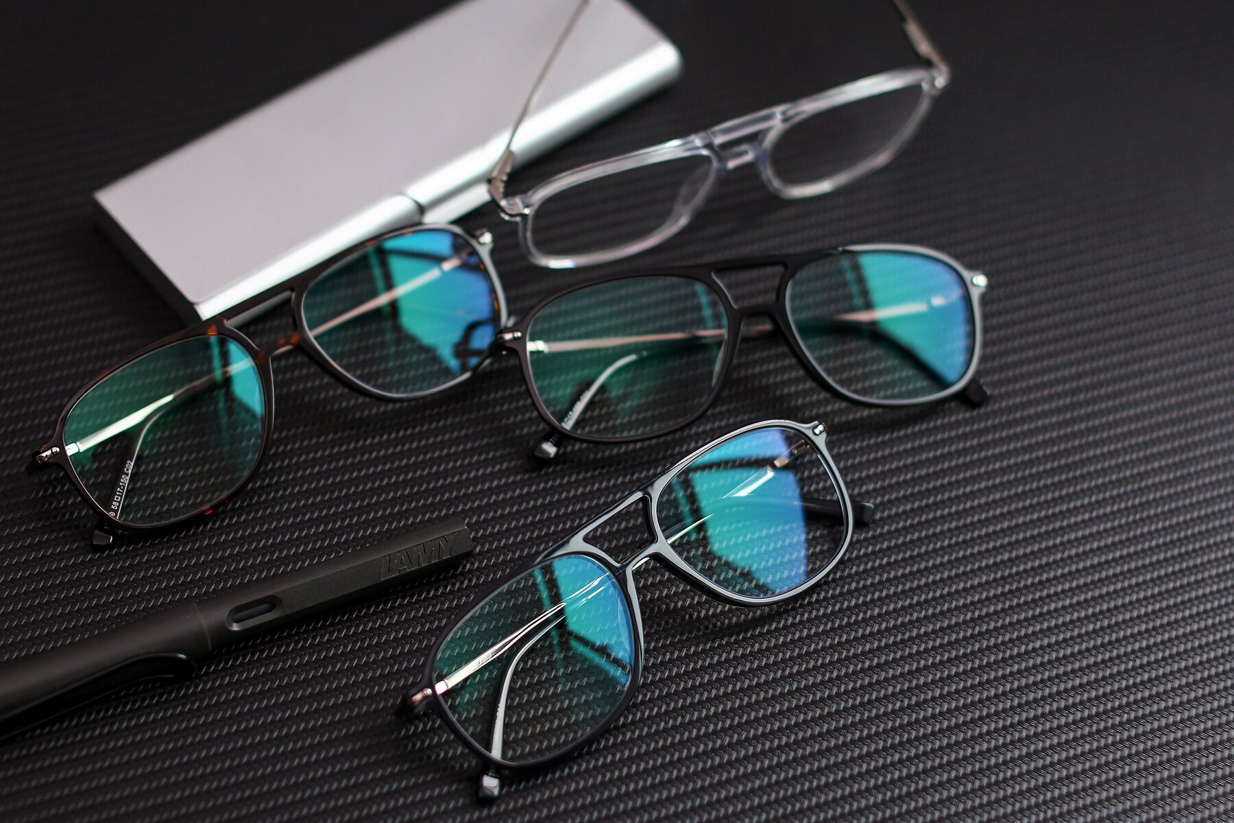 Lifestyle photography #4 of 17580 in Dark Bluish Gray with Clear Eyeglass Lenses