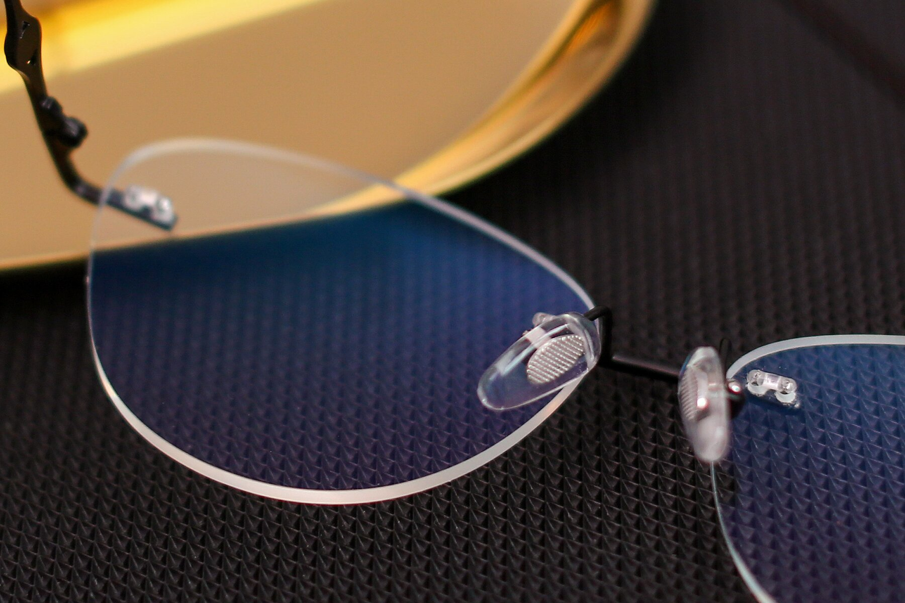 Lifestyle photography #3 of 19005 in Black with Clear Blue Light Blocking Lenses