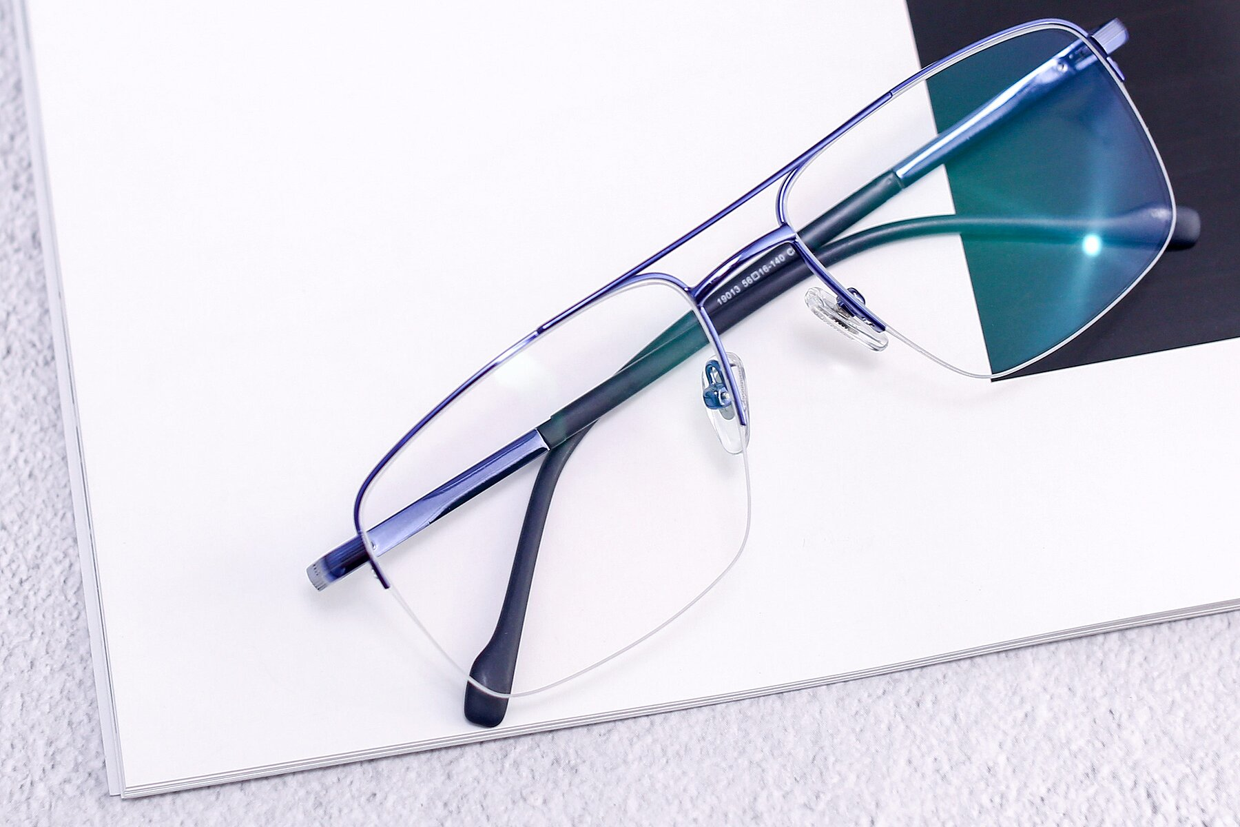 Men's lifestyle photography #1 of 19013 in Blue with Clear Blue Light Blocking Lenses