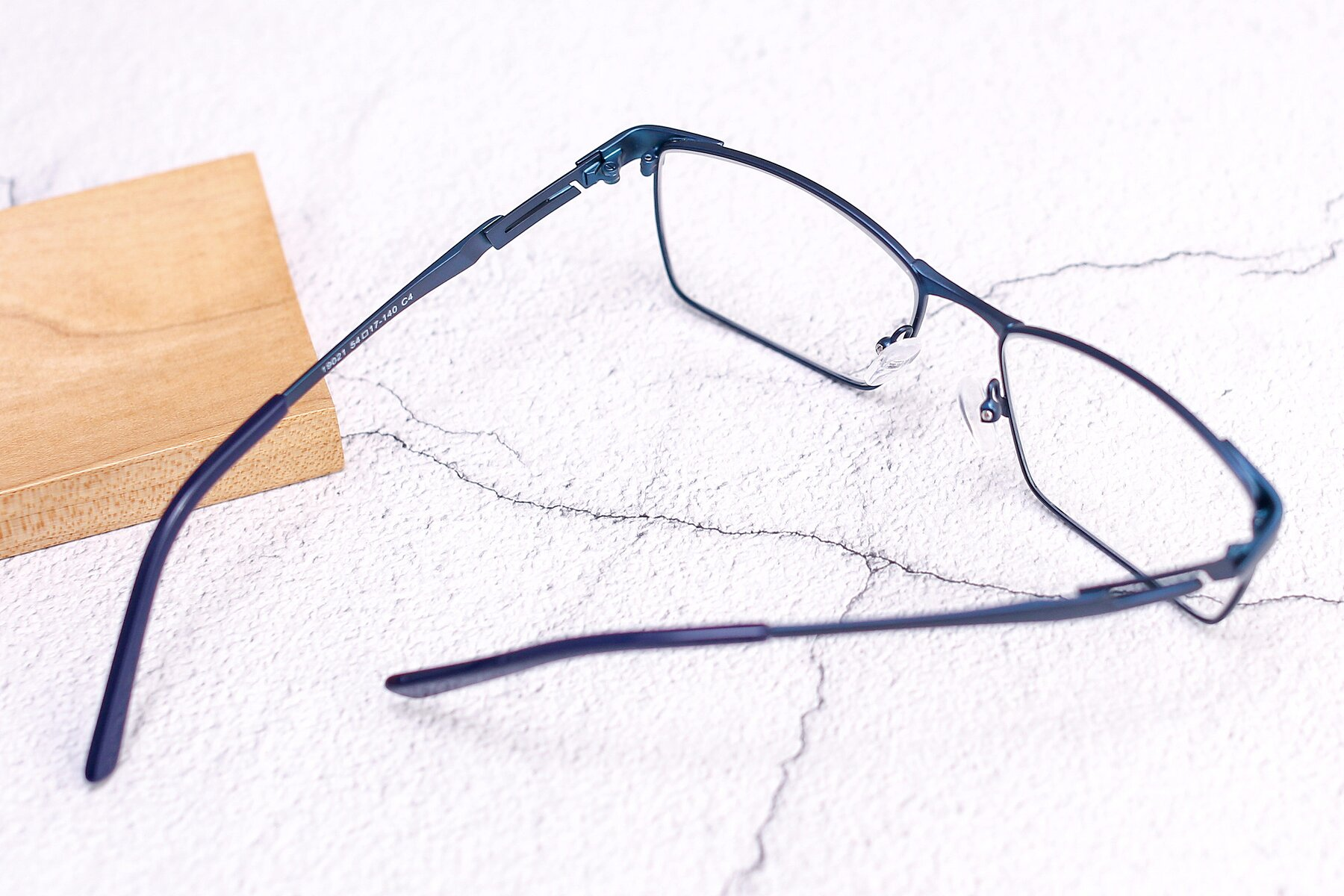 Men's lifestyle photography #2 of 19021 in Blue with Clear Eyeglass Lenses