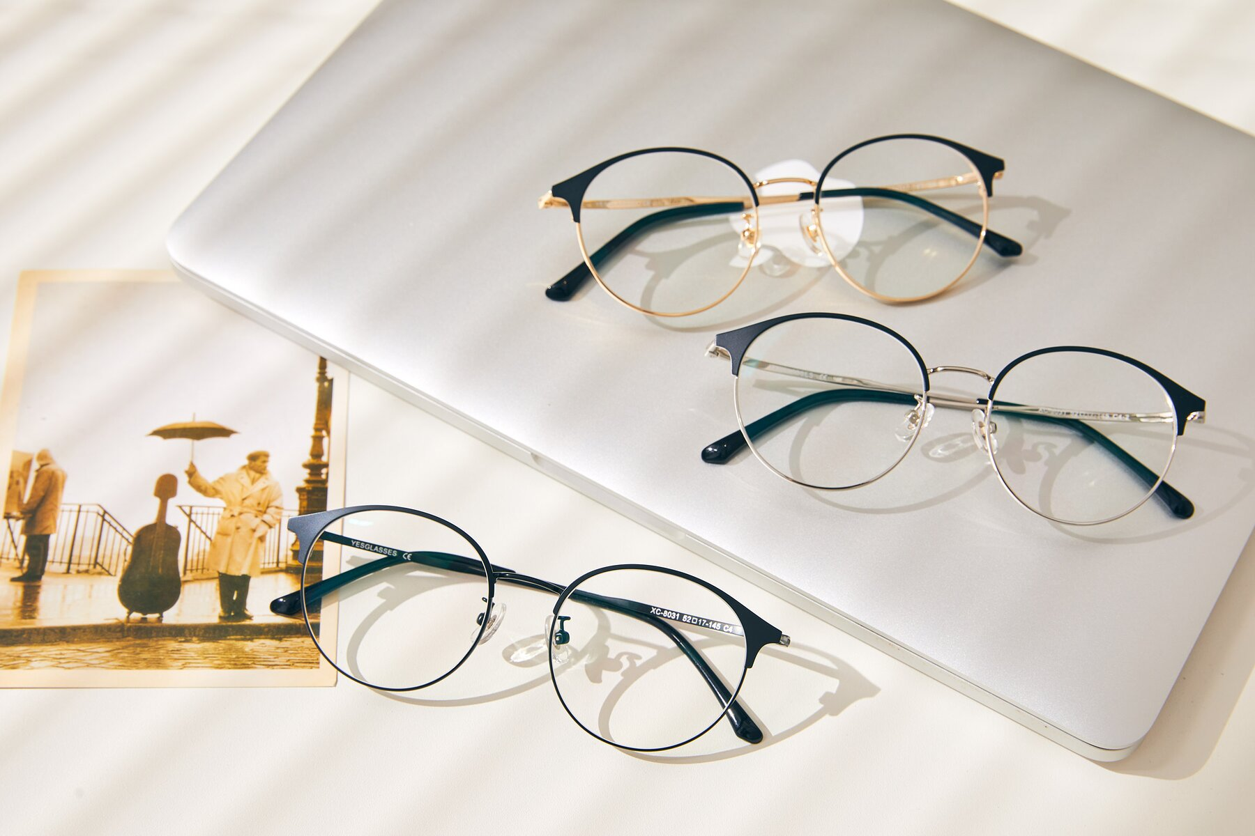 Lifestyle photography #4 of Berkley in Matte Black with Clear Blue Light Blocking Lenses