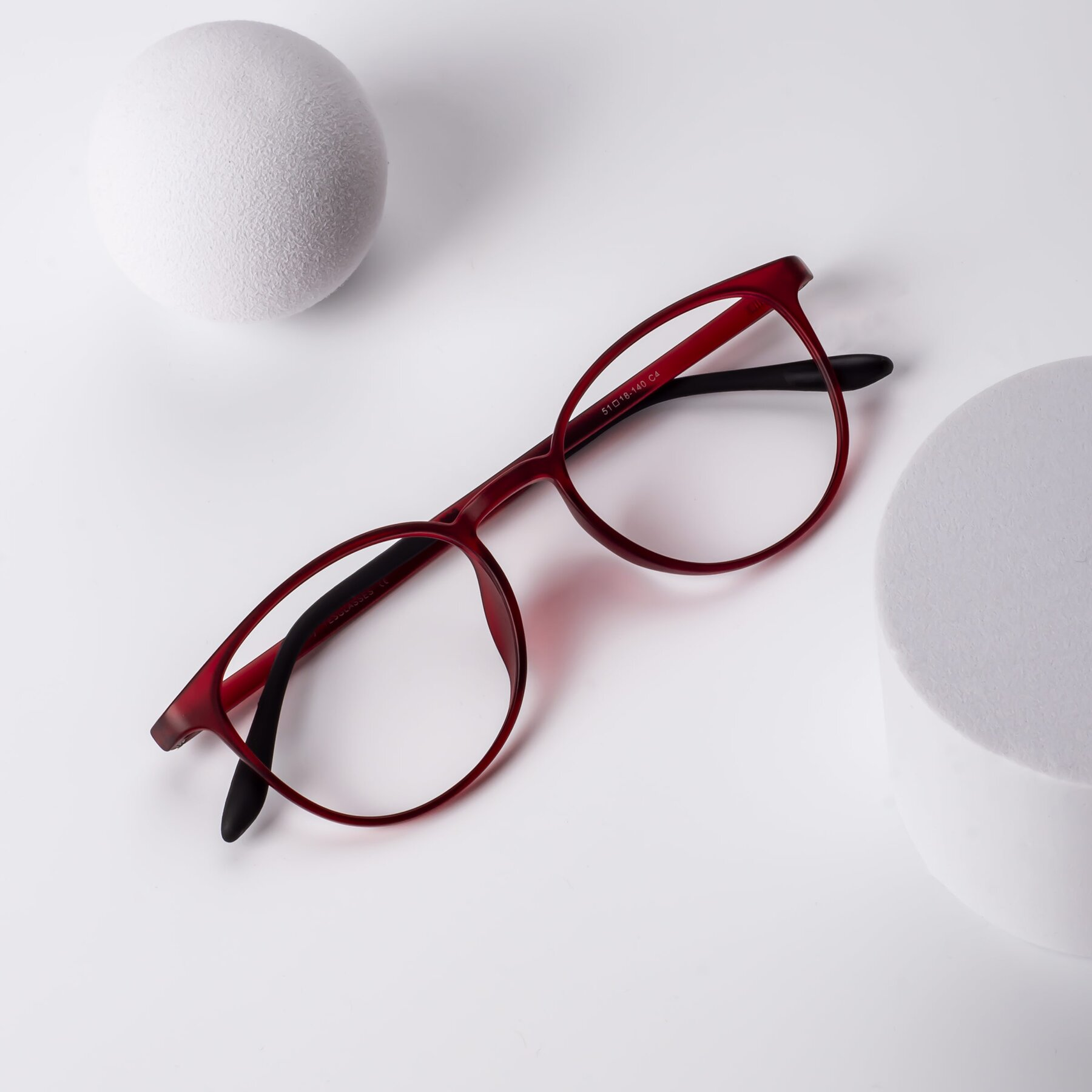 Lifestyle photography #1 of Monday in Wine with Clear Eyeglass Lenses